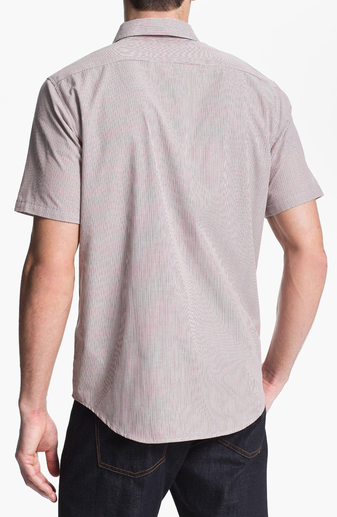 Alternate Image 2  - RVCA 'Creedance' Stripe Woven Shirt