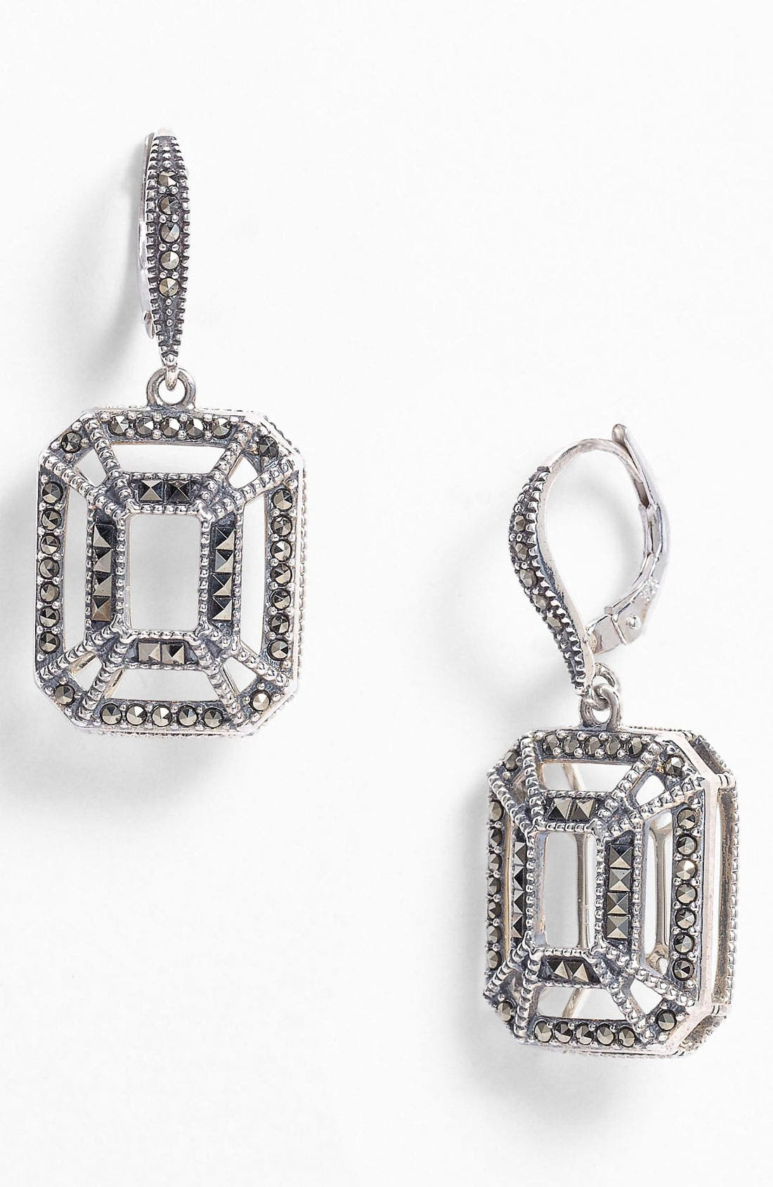 Main Image - Judith Jack 'Caged In' Drop Earrings