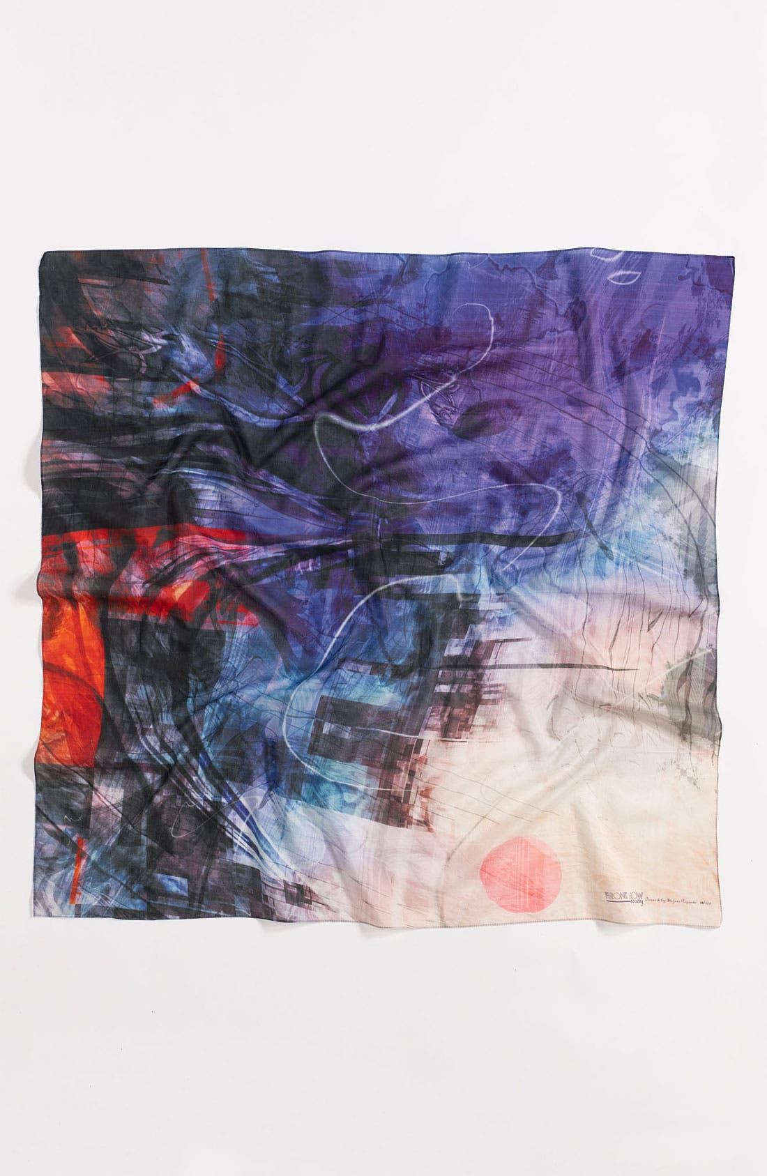 Alternate Image 2  - Front Row Society 'Elusive Dream' Cotton & Silk Scarf