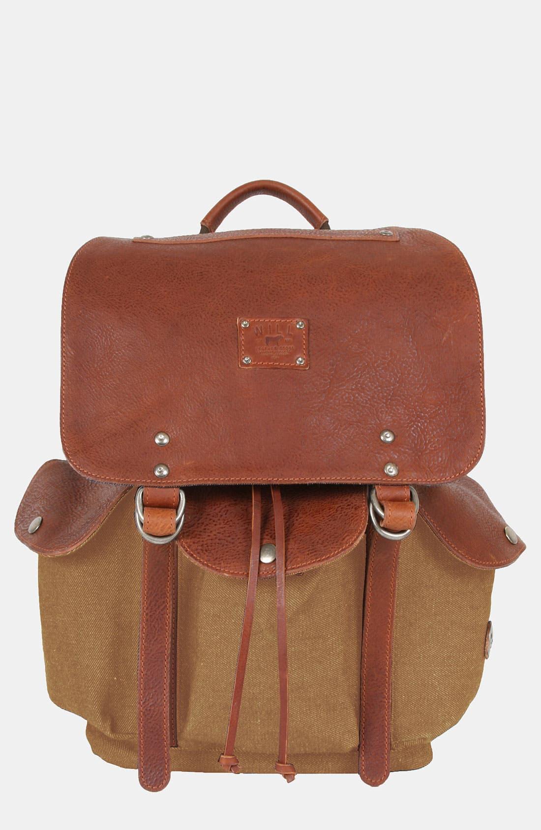 Alternate Image 1 Selected - Will Leather Goods 'Lennon' Backpack