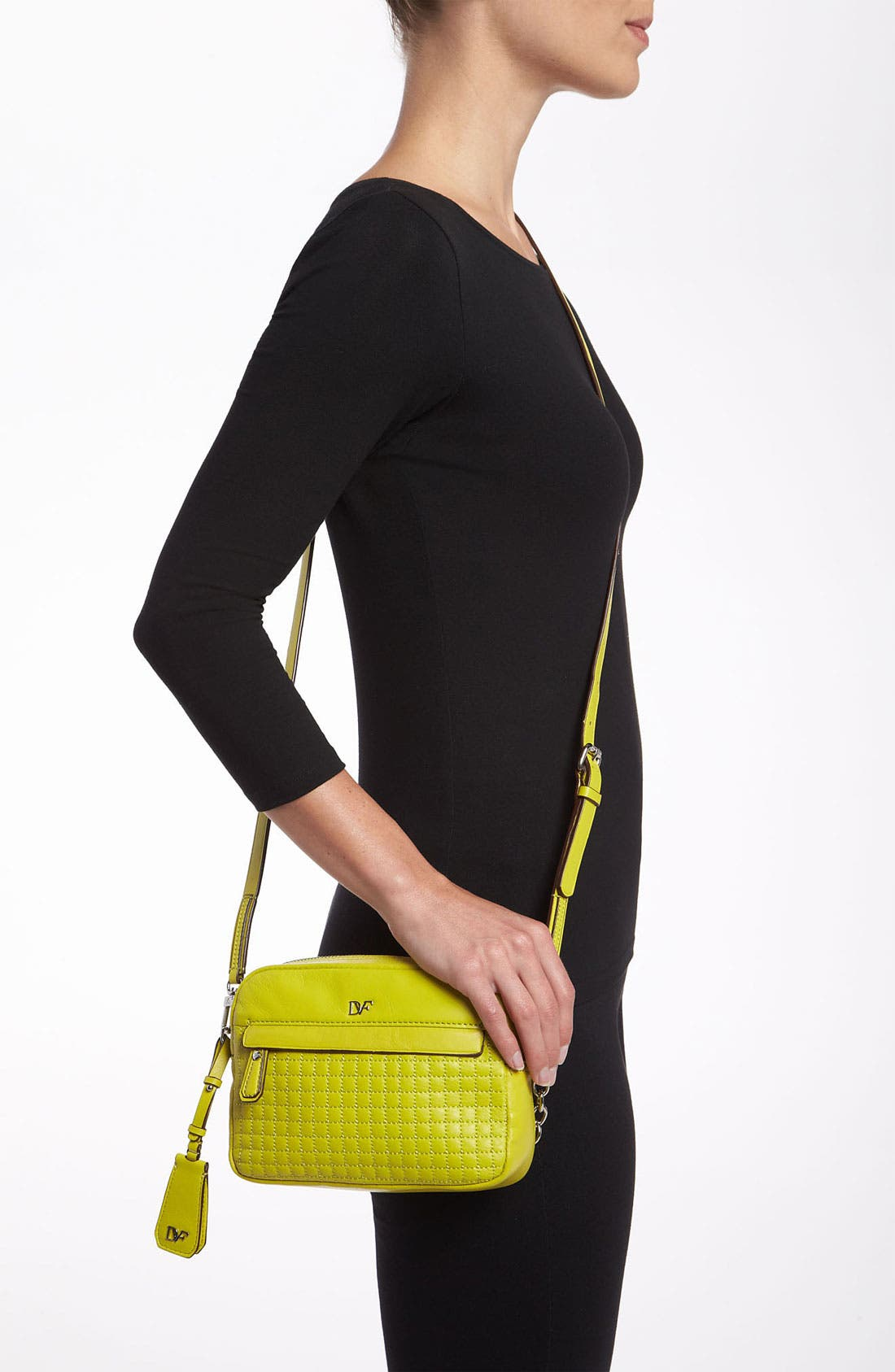 Alternate Image 2  - Diane von Furstenberg 'Milo - Mini' Quilted Crossbody Bag