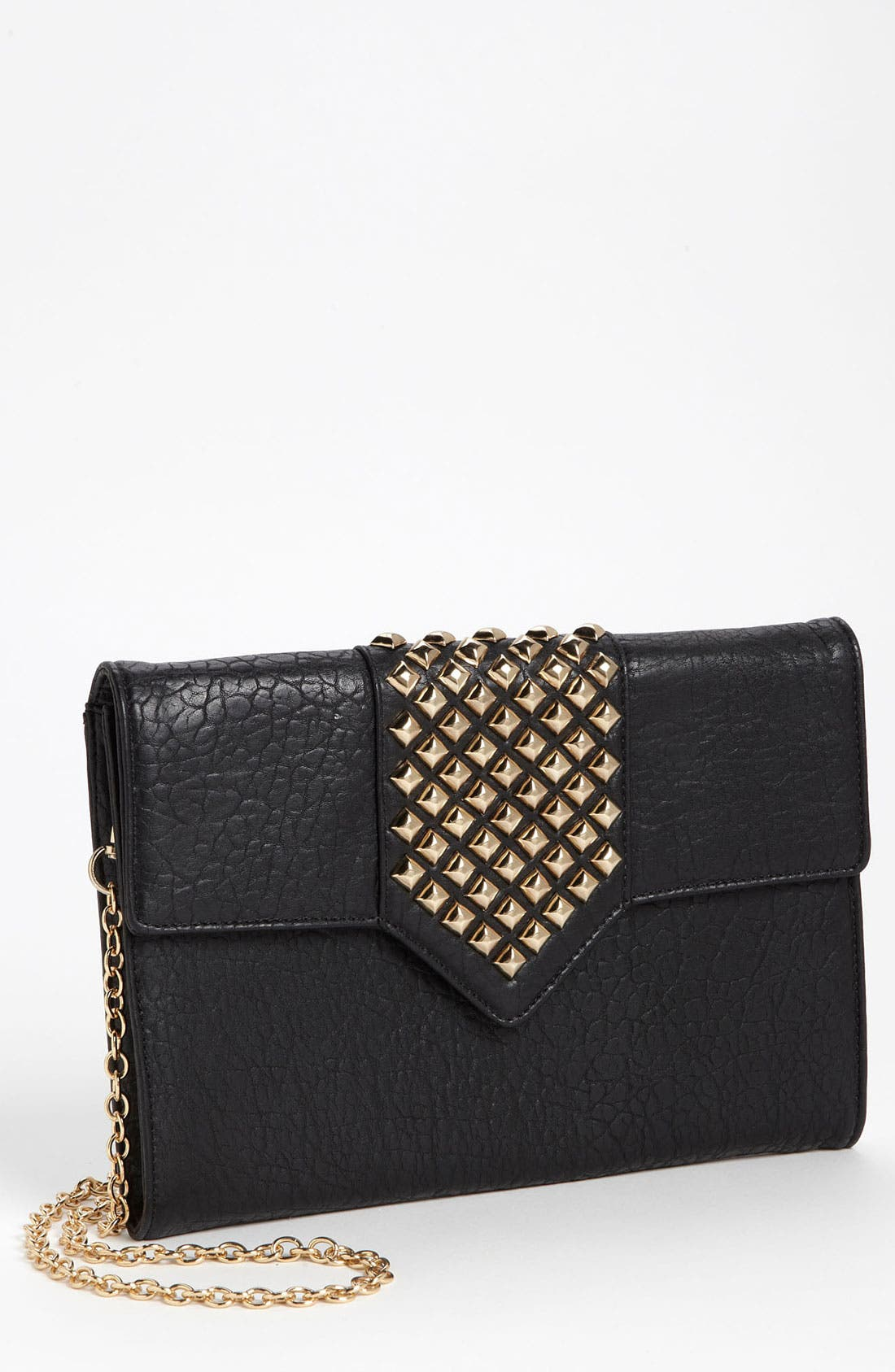 Main Image - Top Choice Studded Envelope Clutch
