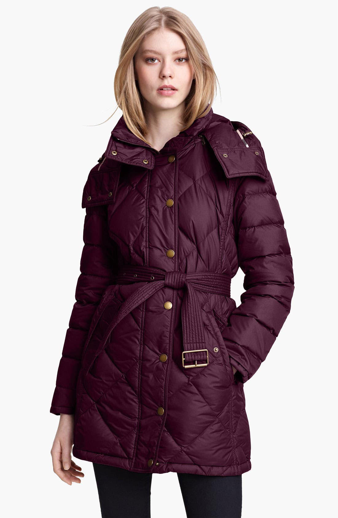 Alternate Image 1 Selected - Burberry Brit 'Eddingly' Down Jacket (Online Exclusive)
