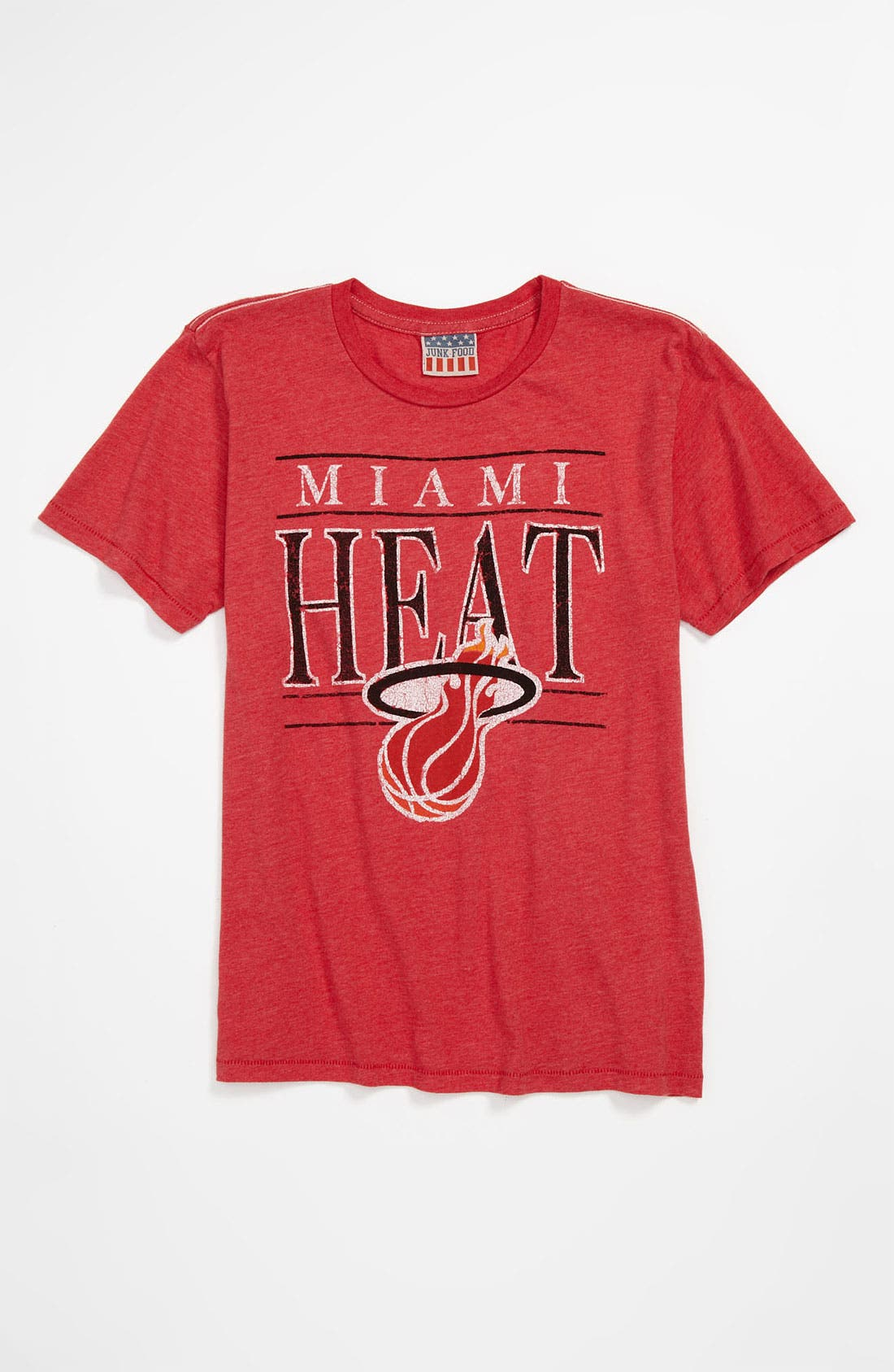 Alternate Image 1 Selected - Junk Food 'Miami Heat' T-Shirt (Little Boys & Big Boys)