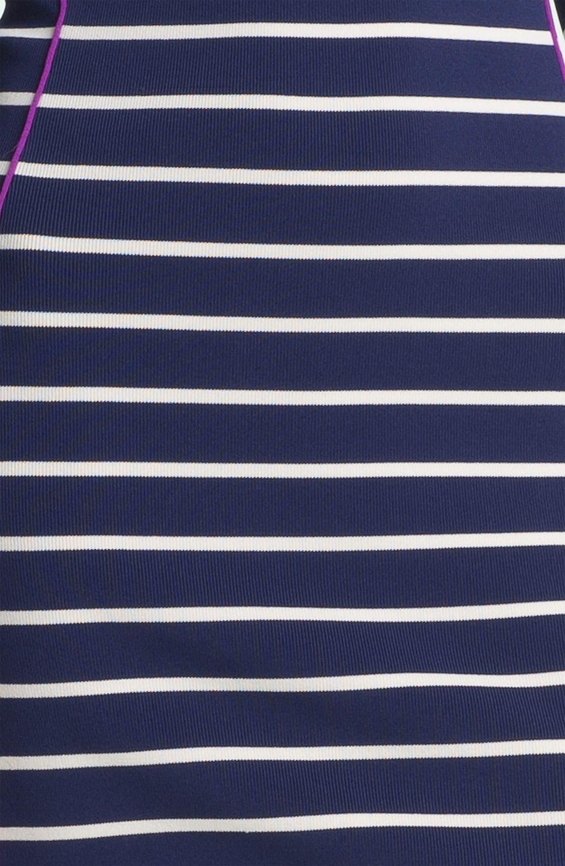 Alternate Image 3  - Jessica Simpson Contrast Trim Stripe Knit Sheath Dress