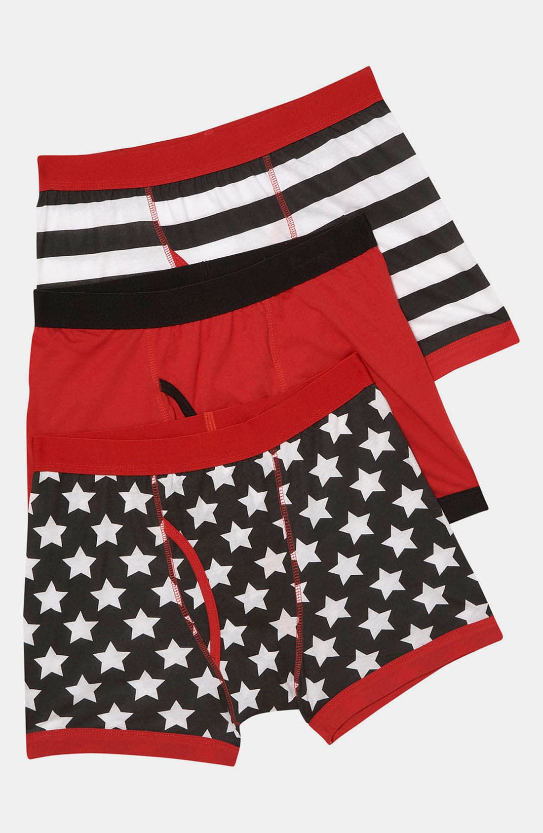 Main Image - Topman Stars &  Stripes Boxer Briefs (3-Pack)