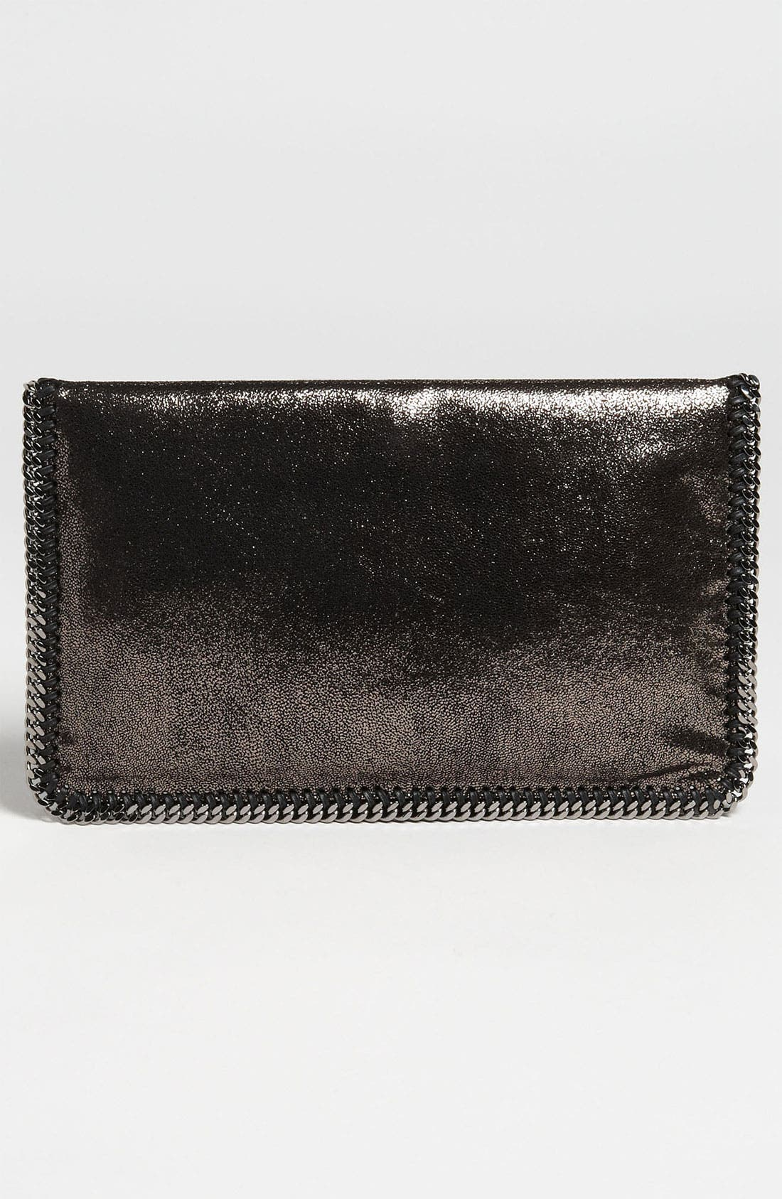 Alternate Image 4  - Stella McCartney 'Falabella' Metallic Clutch