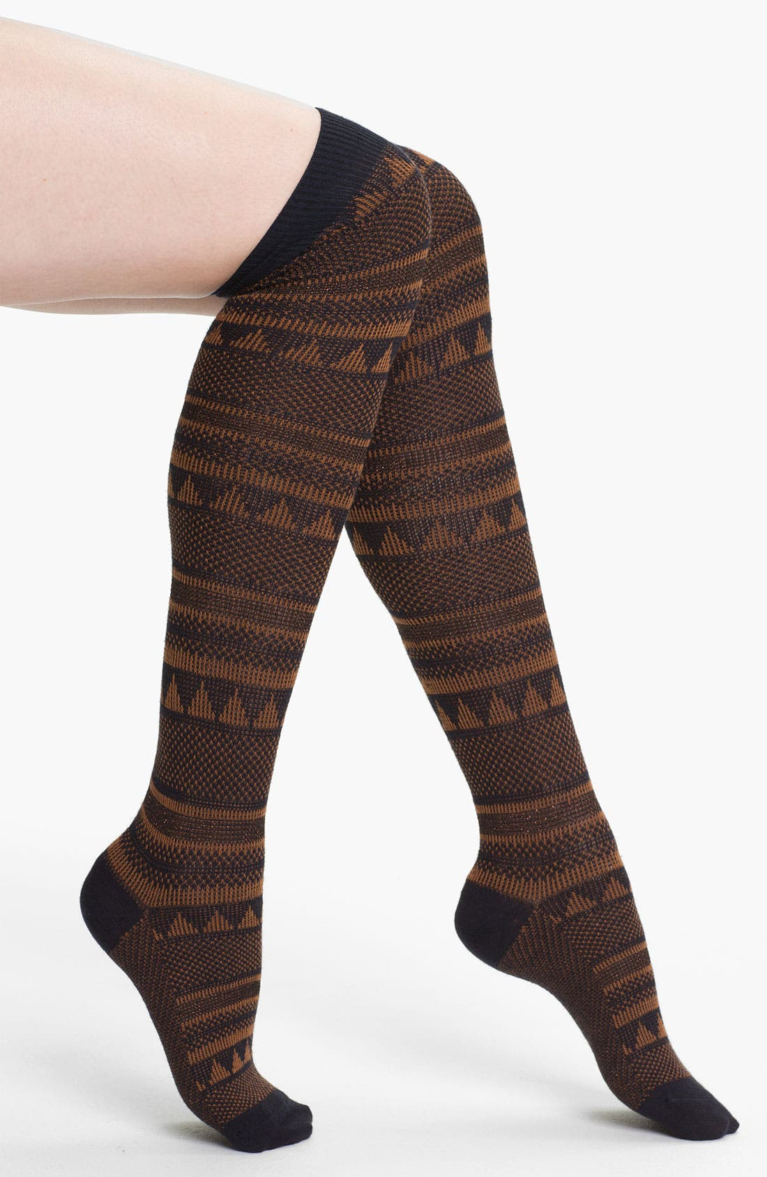 Main Image - Free People 'Peaks & Valleys' Over the Knee Socks