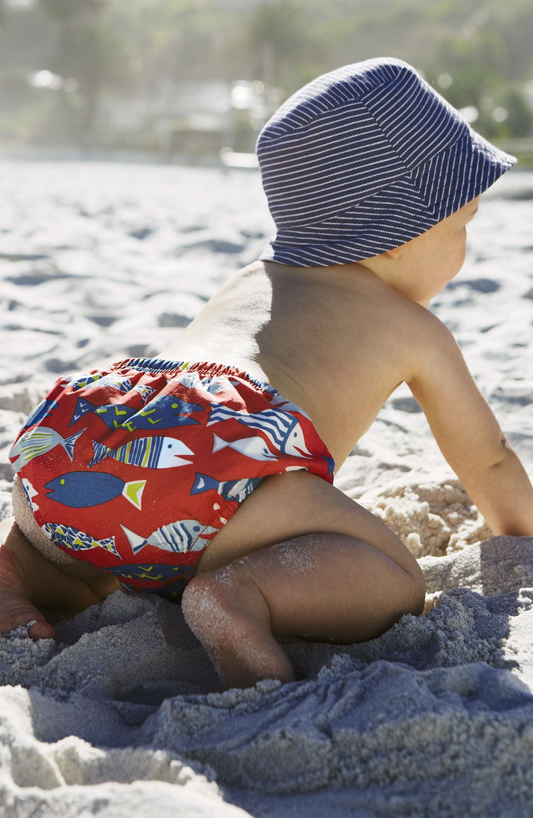 Alternate Image 2  - Mini Boden Swim Pants (Baby)