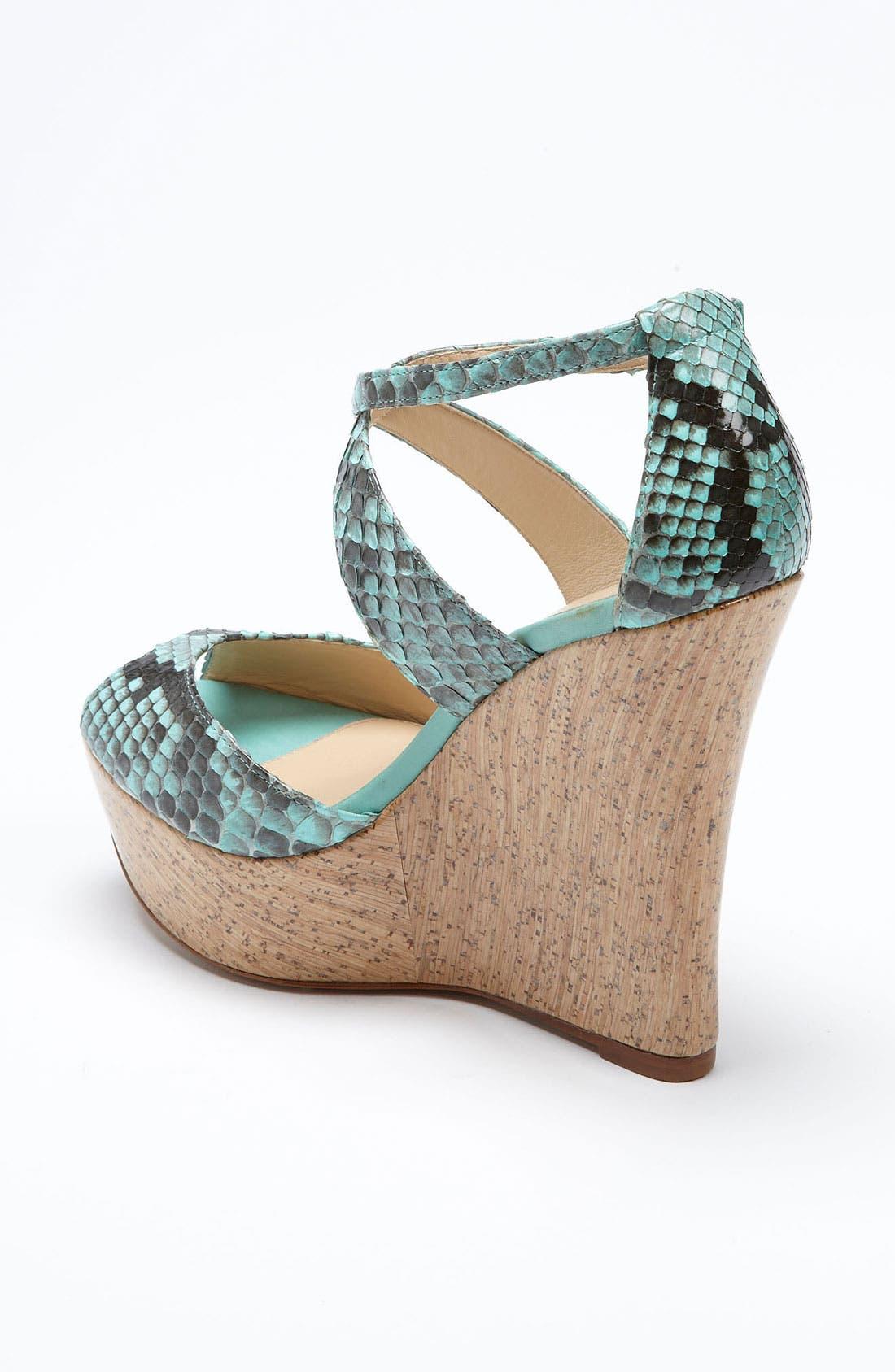 Alternate Image 2  - Alexandre Birman Cork Wedge Sandal