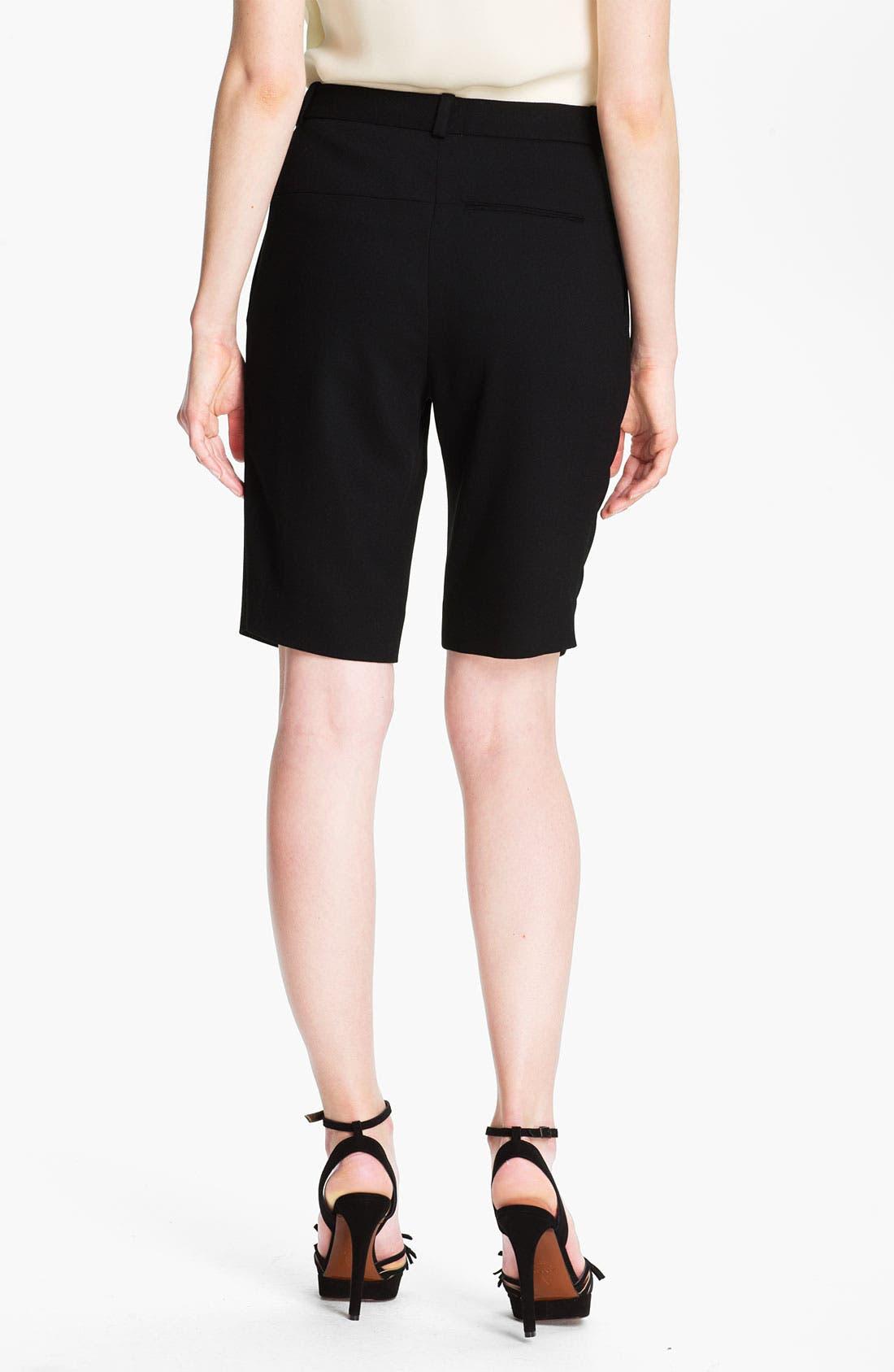 Alternate Image 2  - Halston Heritage Gabardine Bermuda Shorts