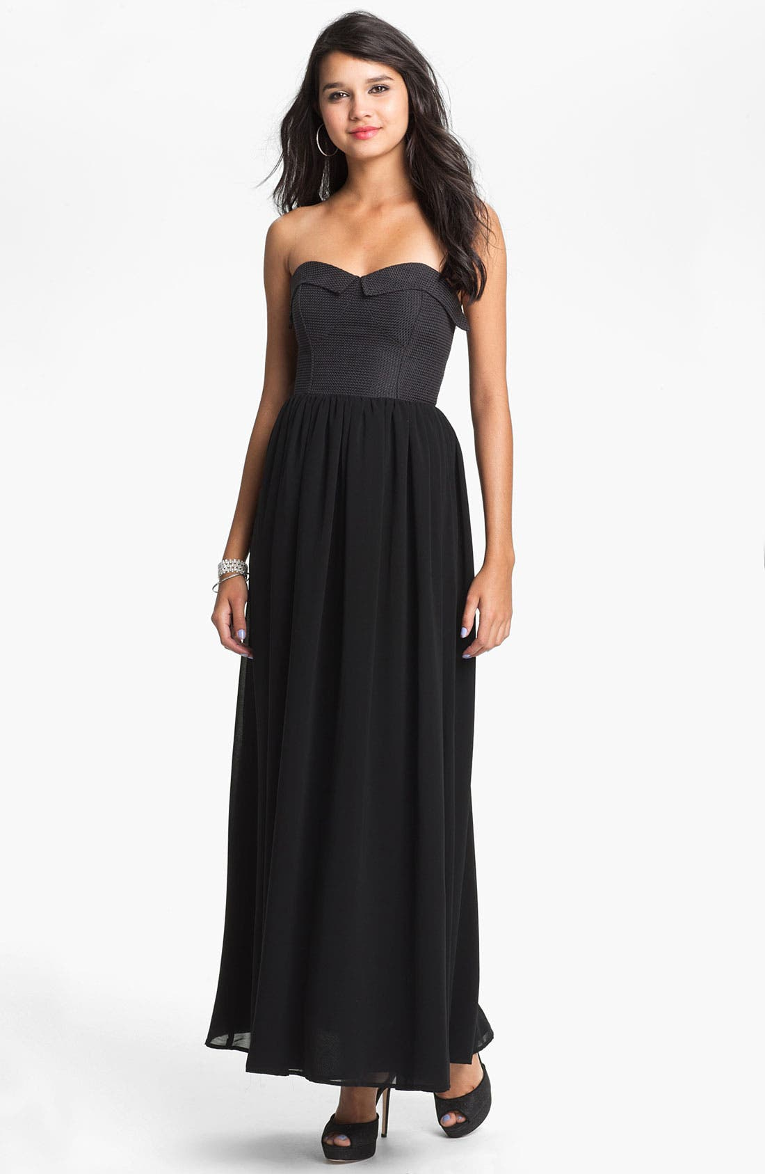 Alternate Image 1 Selected - Keepsake the Label 'To Be Free' Maxi Dress