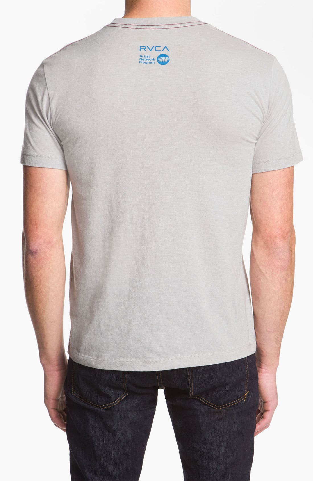Alternate Image 2  - RVCA 'Shooting Hula' Graphic T-Shirt