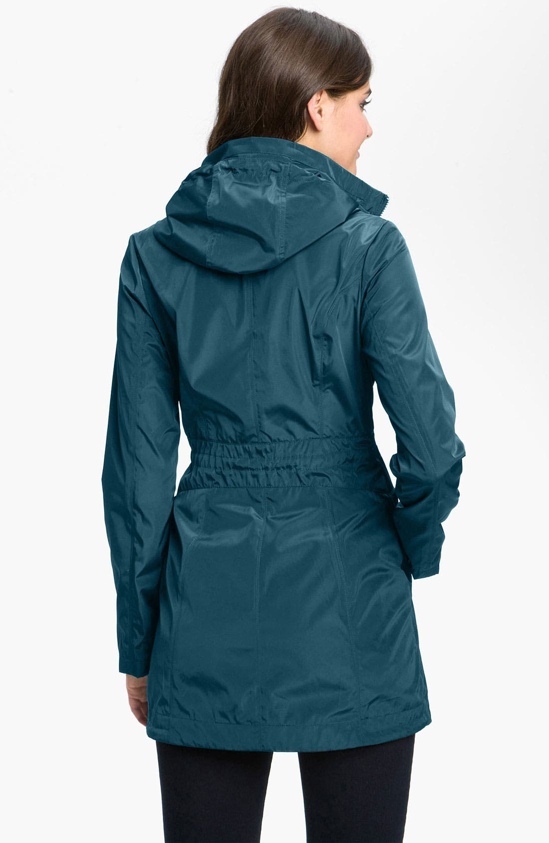 Alternate Image 2  - Laundry by Shelli Segal Packable Hooded Anorak
