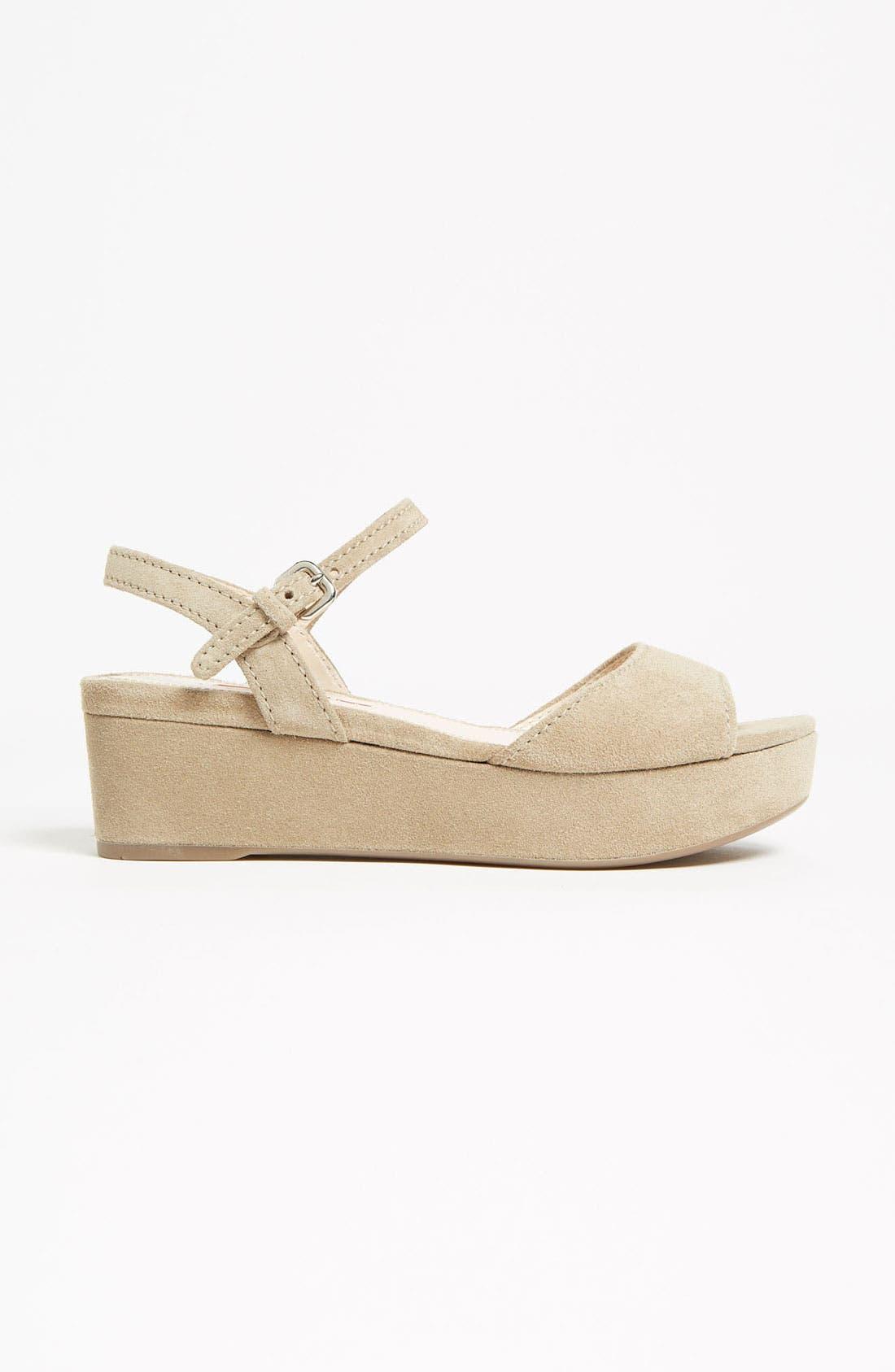 Alternate Image 4  - Prada Platform Sandal