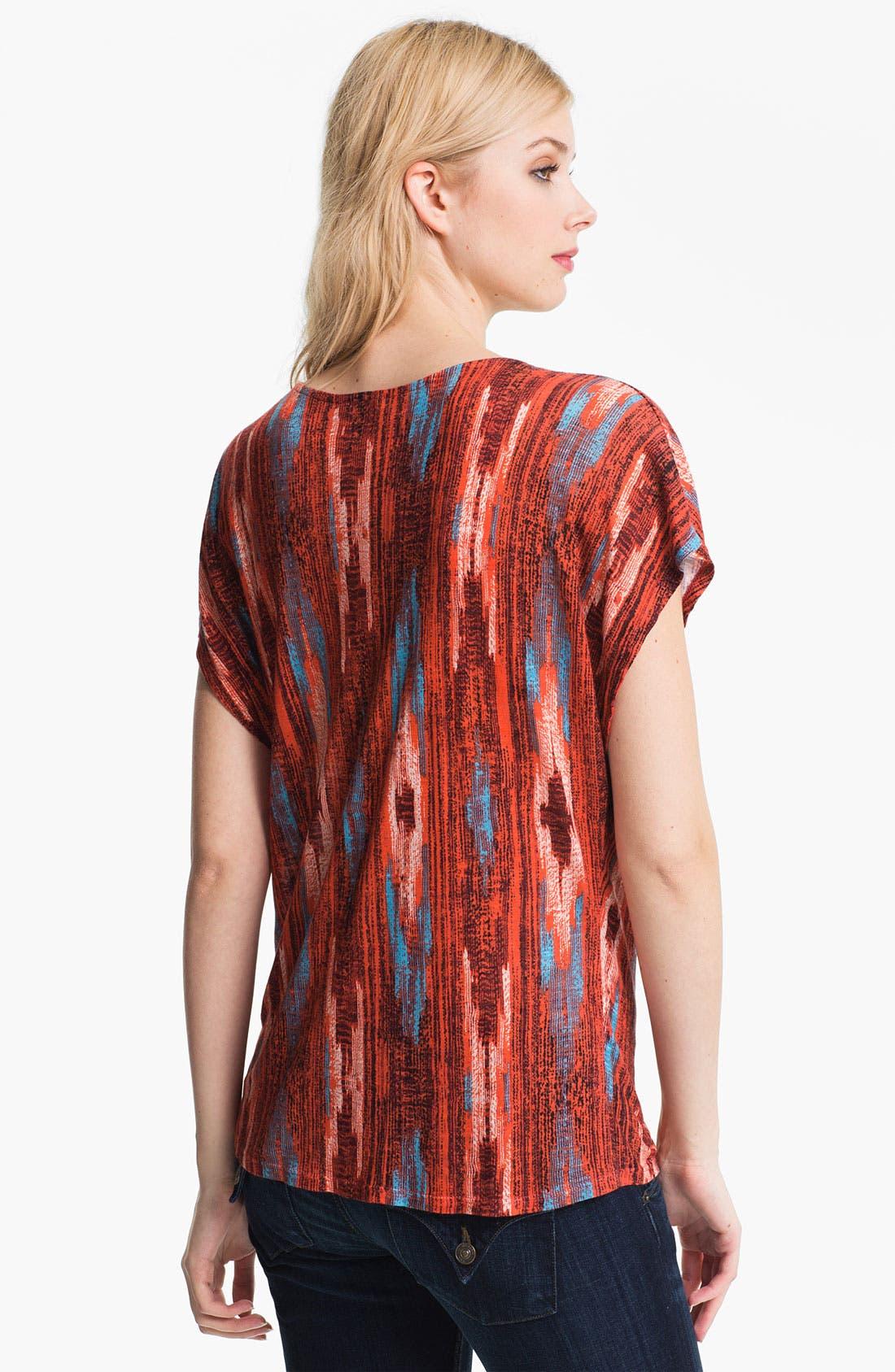 Alternate Image 2  - Ella Moss 'Santa Fe' Print Cowl Neck Top