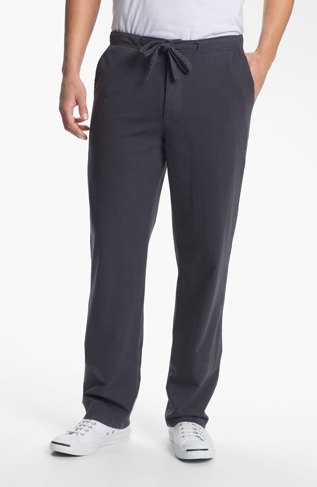 Main Image - Grayers 'Cayman Beach' Flat Front Pants