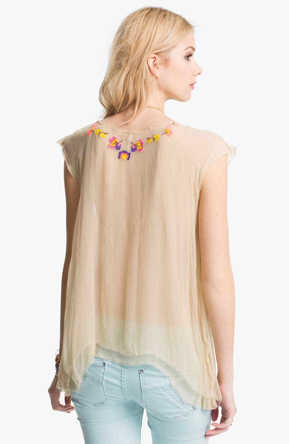 Alternate Image 2  - Free People 'Summer Nights' Embellished Top