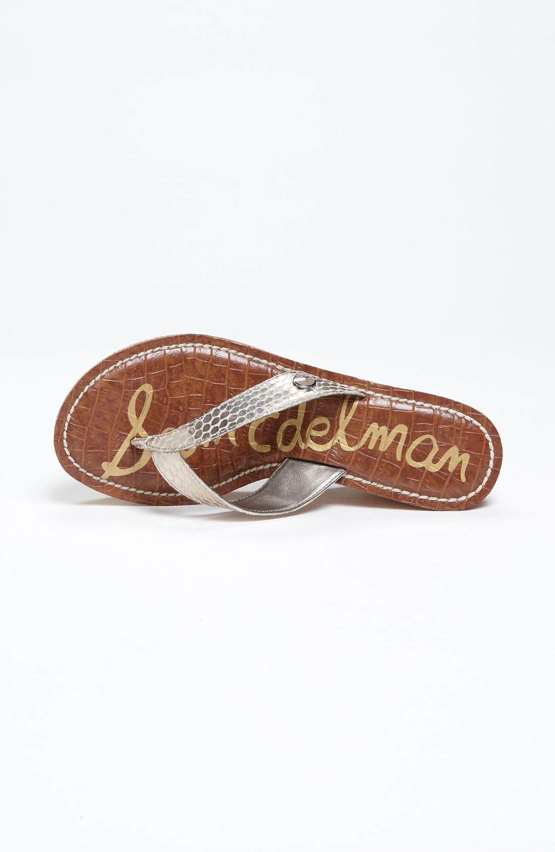 Alternate Image 3  - Sam Edelman 'Romy' Wedge Sandal (Women)
