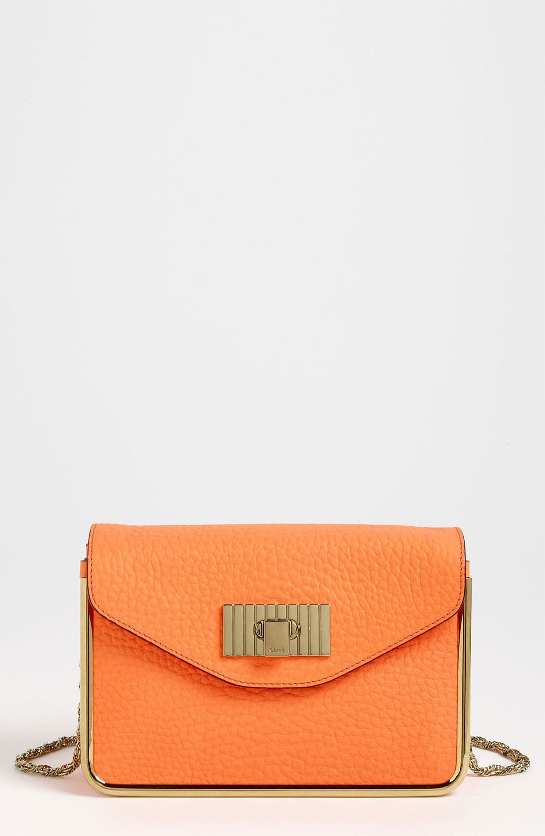 Alternate Image 1 Selected - Chloé 'Sally - Small' Leather Shoulder Bag