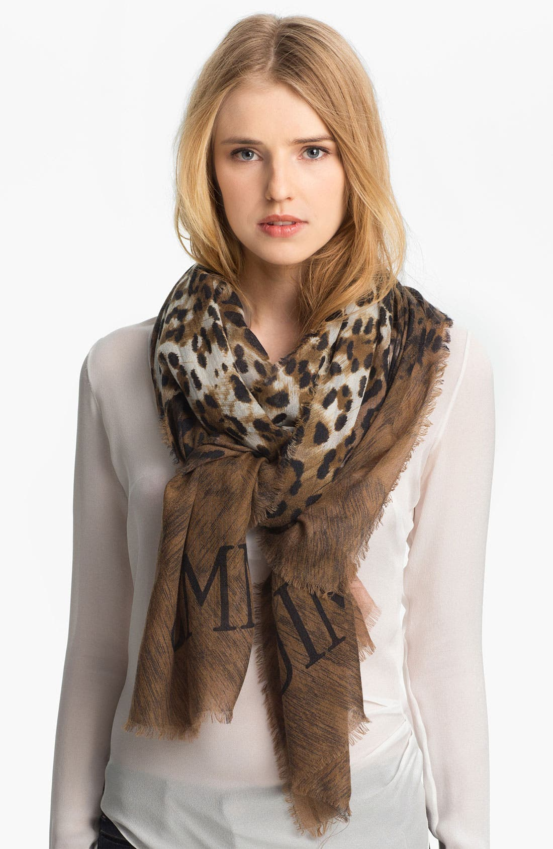 Alternate Image 1 Selected - Jimmy Choo 'Shira' Cashmere Scarf