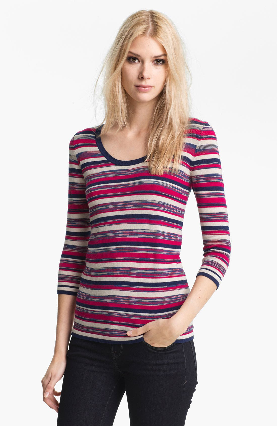Alternate Image 1 Selected - MARC BY MARC JACOBS 'Marion' Silk Blend Sweater