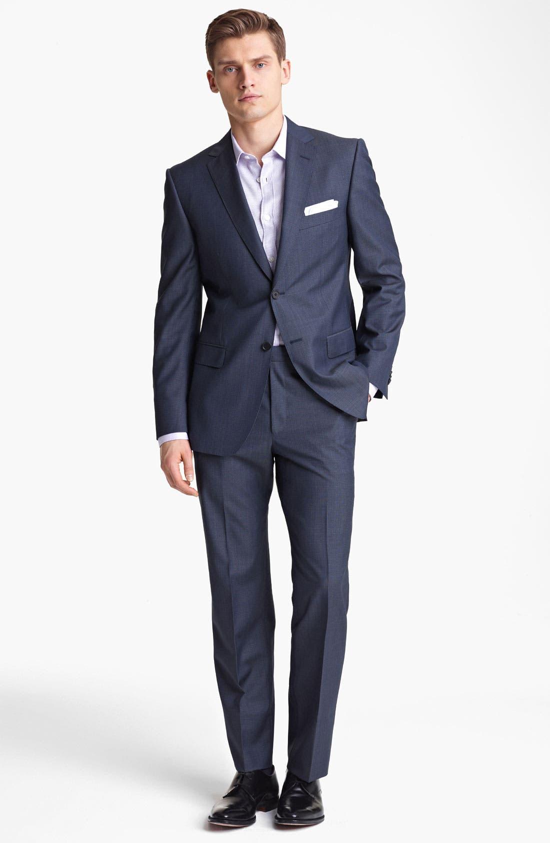 Alternate Image 1 Selected - Z Zegna Trim Fit Wool Suit