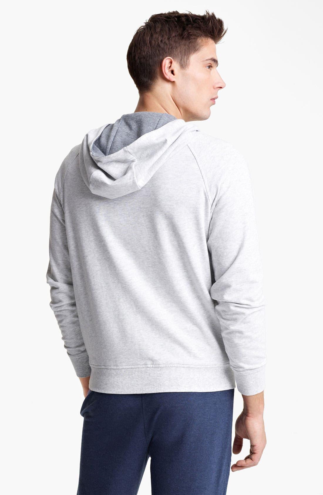 Alternate Image 2  - Zegna Sport Hooded Sweatshirt