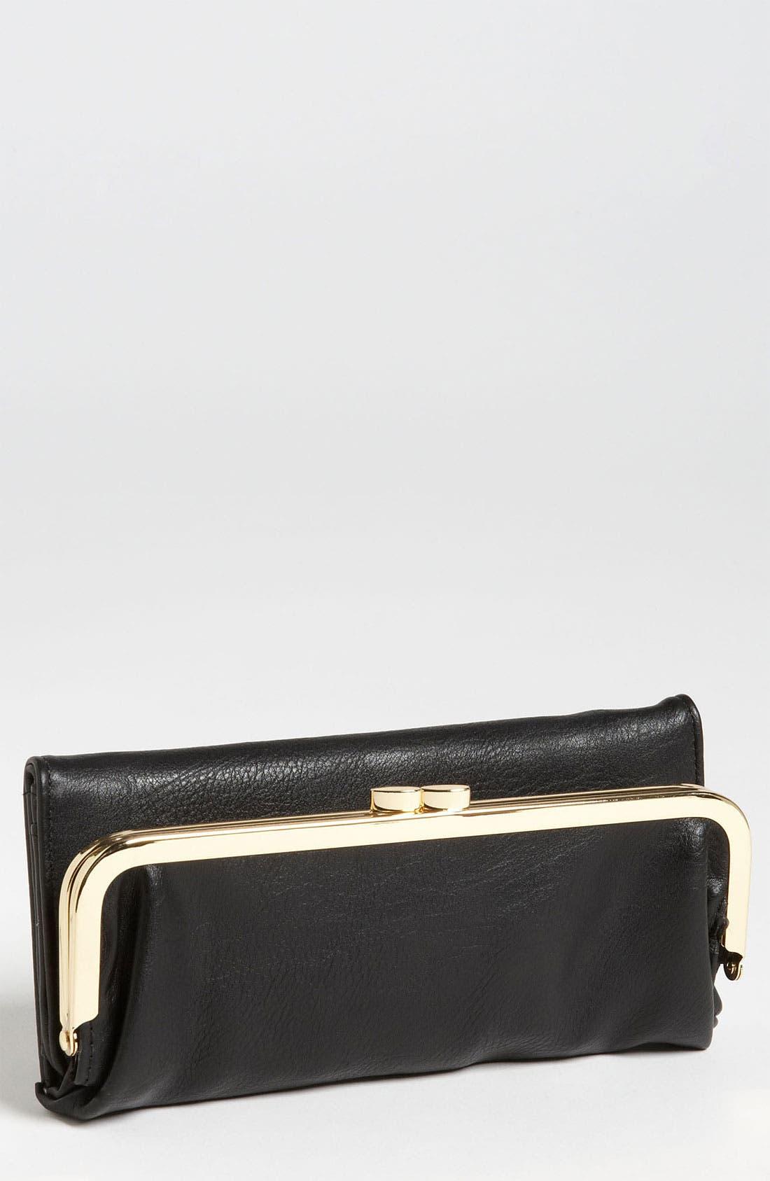 Main Image - BP. Foldover Frame Wallet