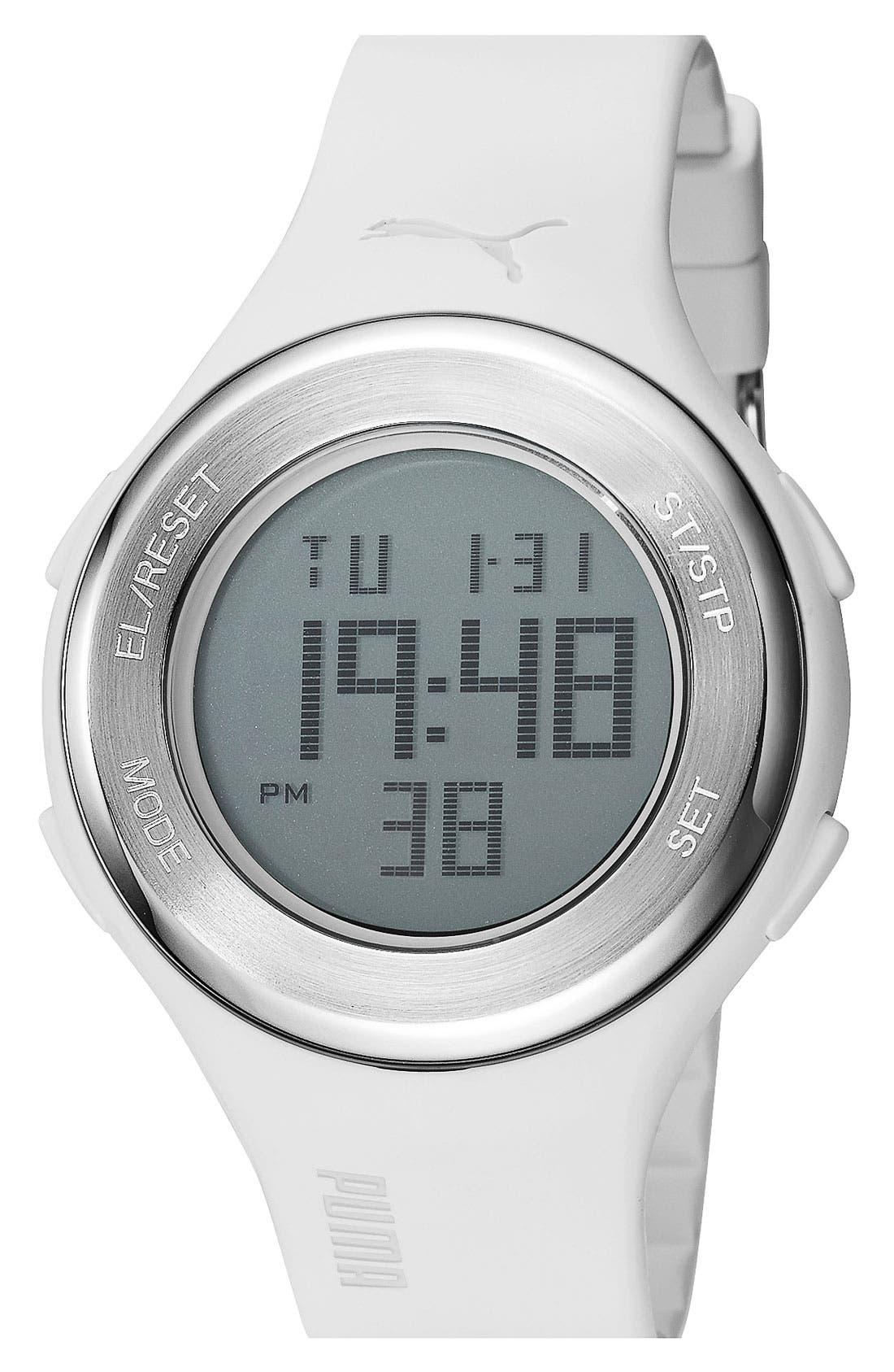 Alternate Image 1 Selected - PUMA 'Loop' Digital Chronograph Watch, 44mm