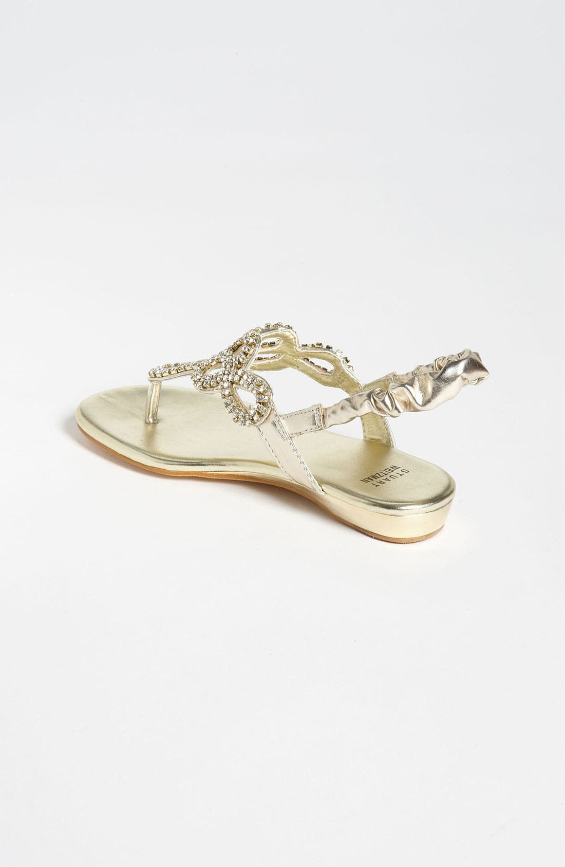 Alternate Image 2  - Stuart Weitzman 'Fire Opal' Sandal (Little Kid & Big Kid)