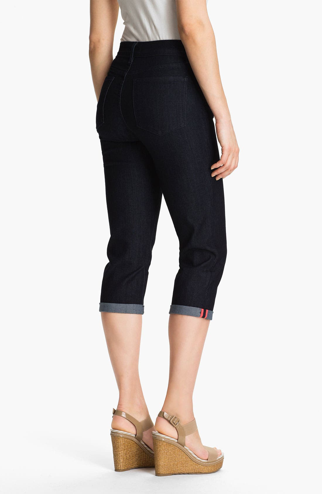 Alternate Image 2  - NYDJ 'Fiona' Roll Cuff Crop Jeans