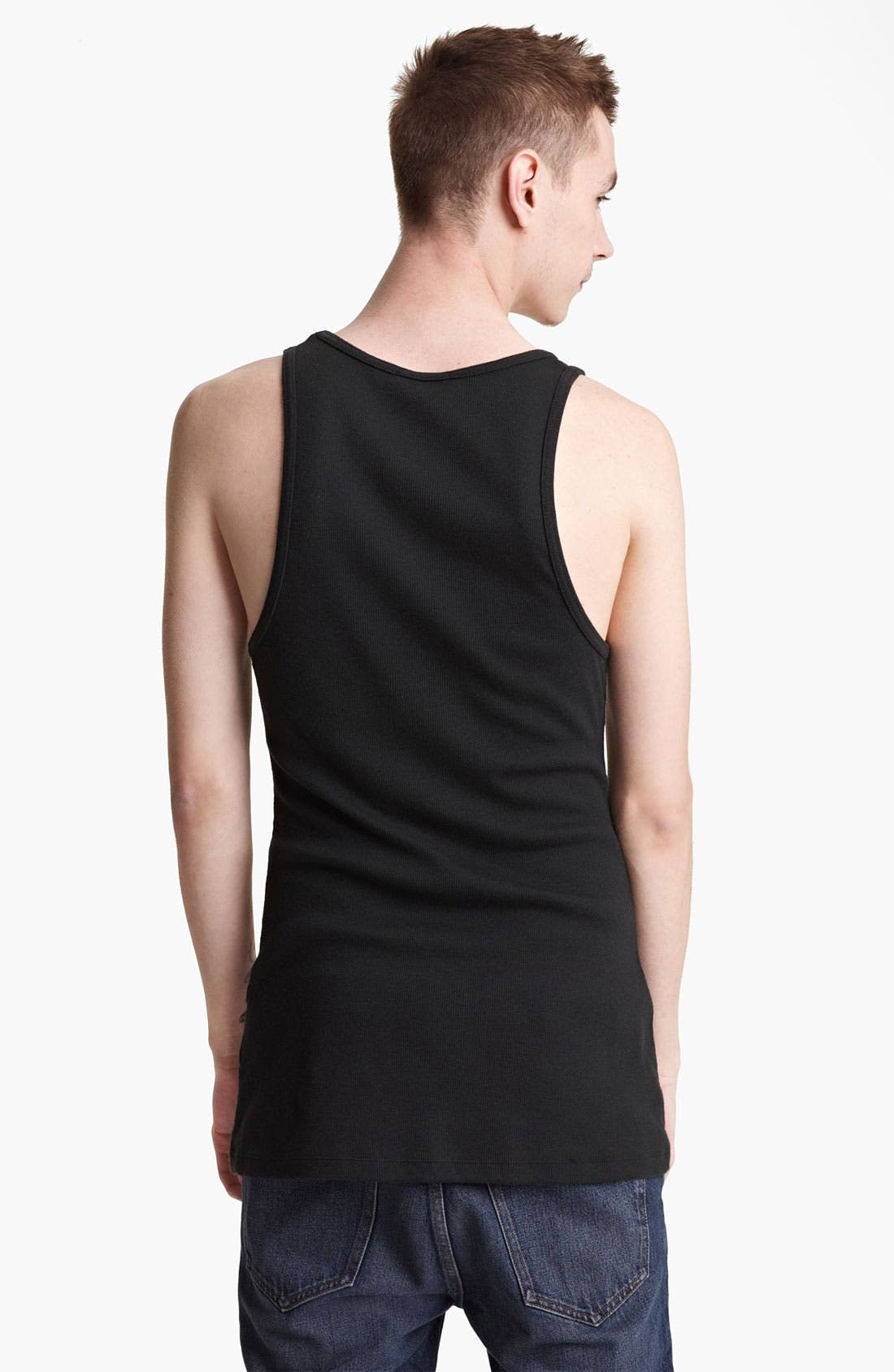 Alternate Image 2  - BLK DNM Ribbed Tank Top