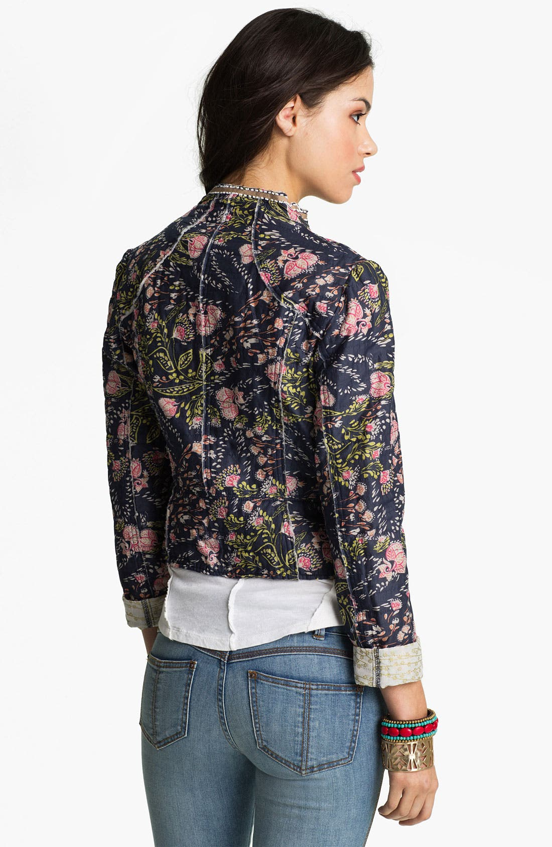 Alternate Image 2  - Free People 'Meadow' Quilted Voile Jacket