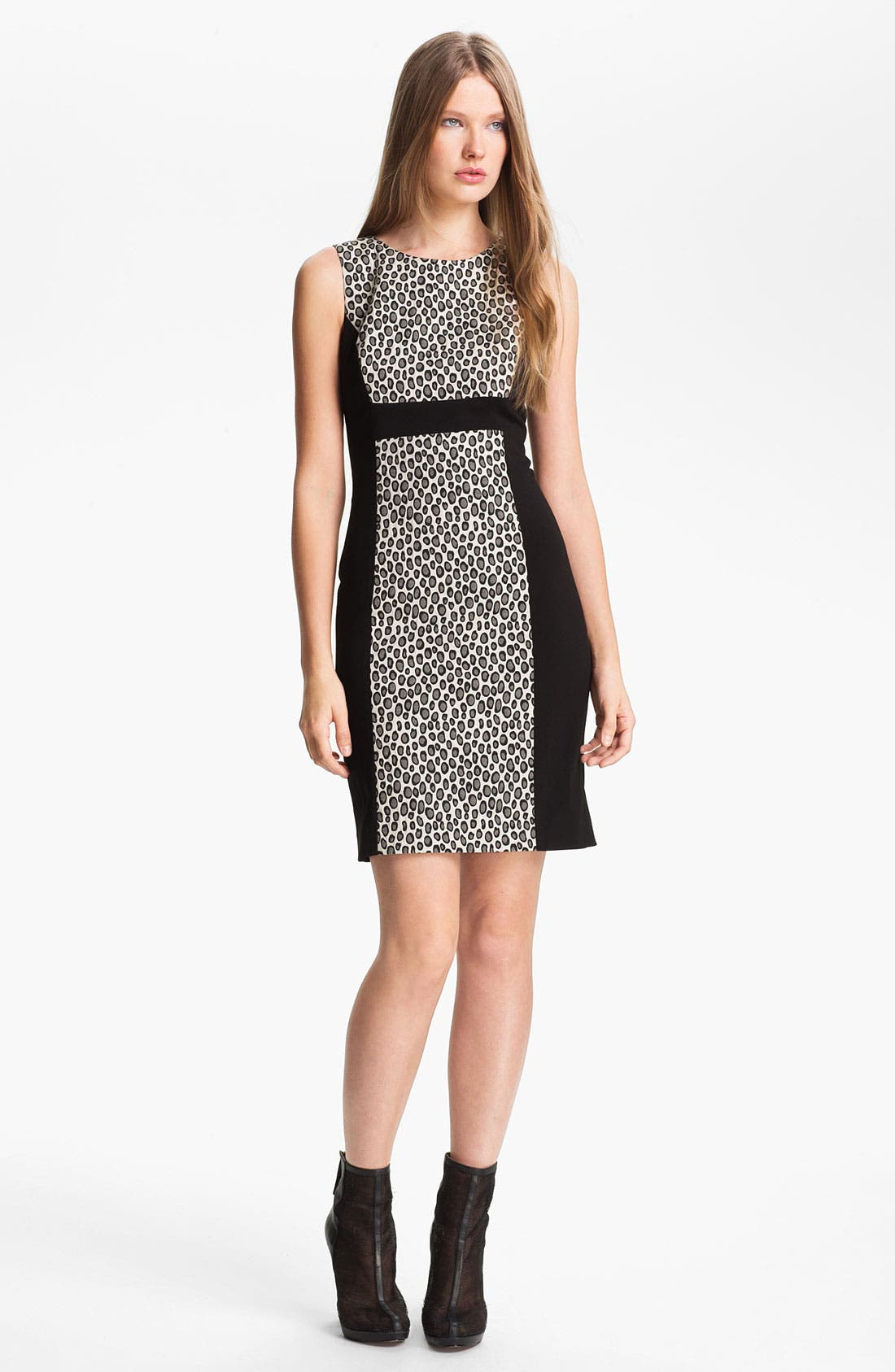 Alternate Image 1 Selected - Rachel Zoe 'Ricky' Contrast Panel Sheath Dress