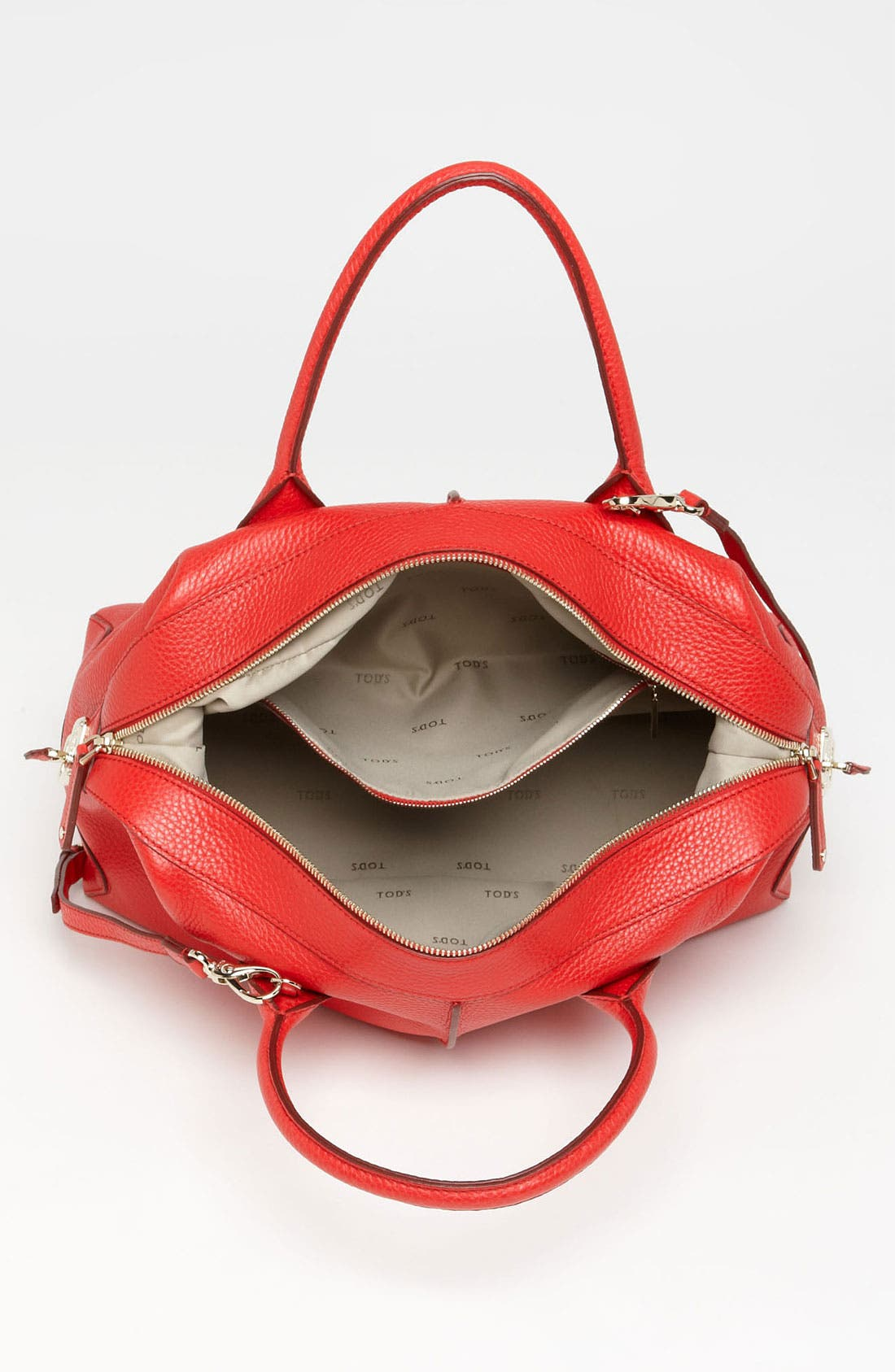 Alternate Image 3  - Tod's 'D-Styling - Medium' Leather Shopper