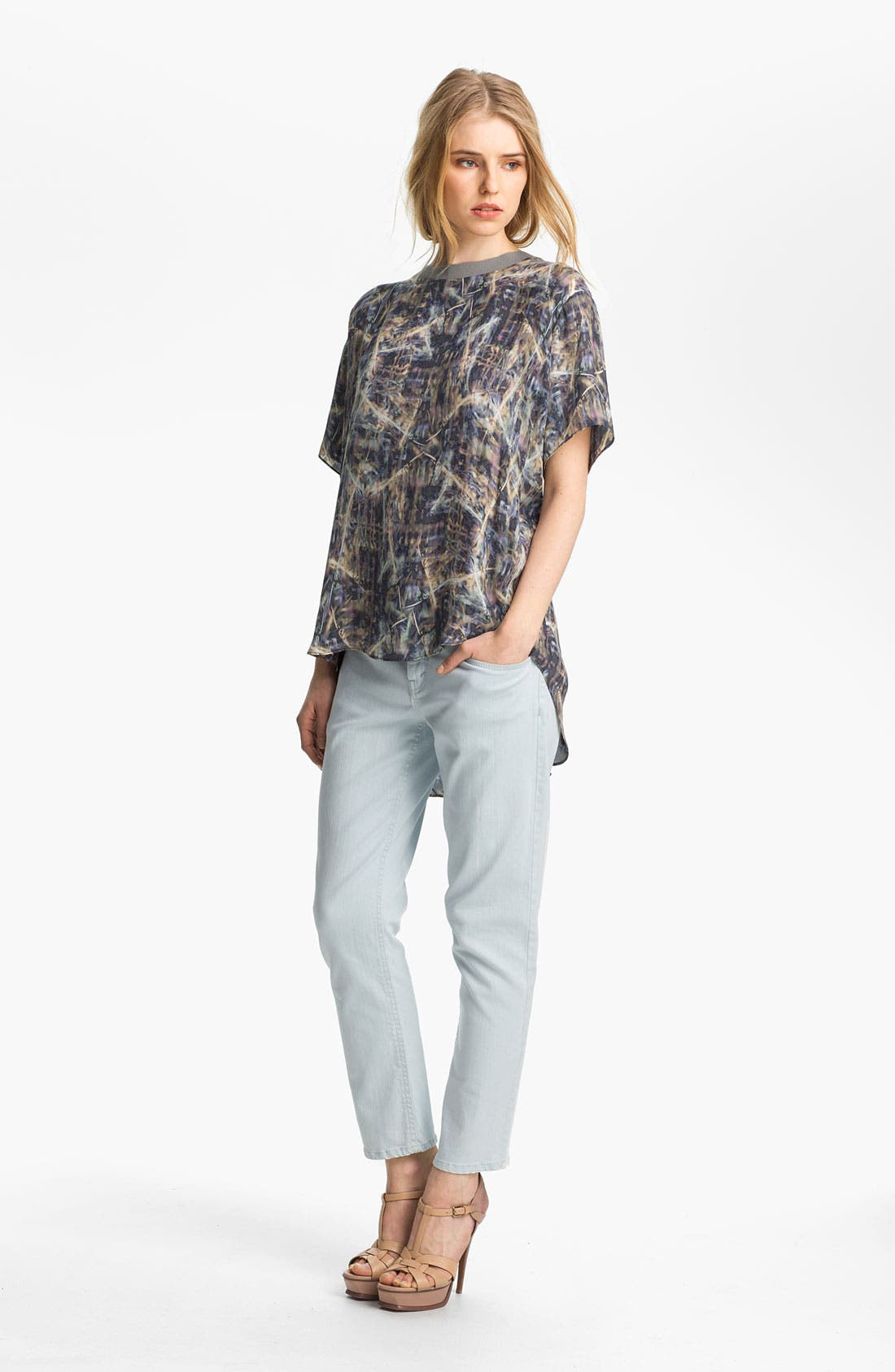 Alternate Image 1 Selected - Theyskens' Theory Tee & Jeans