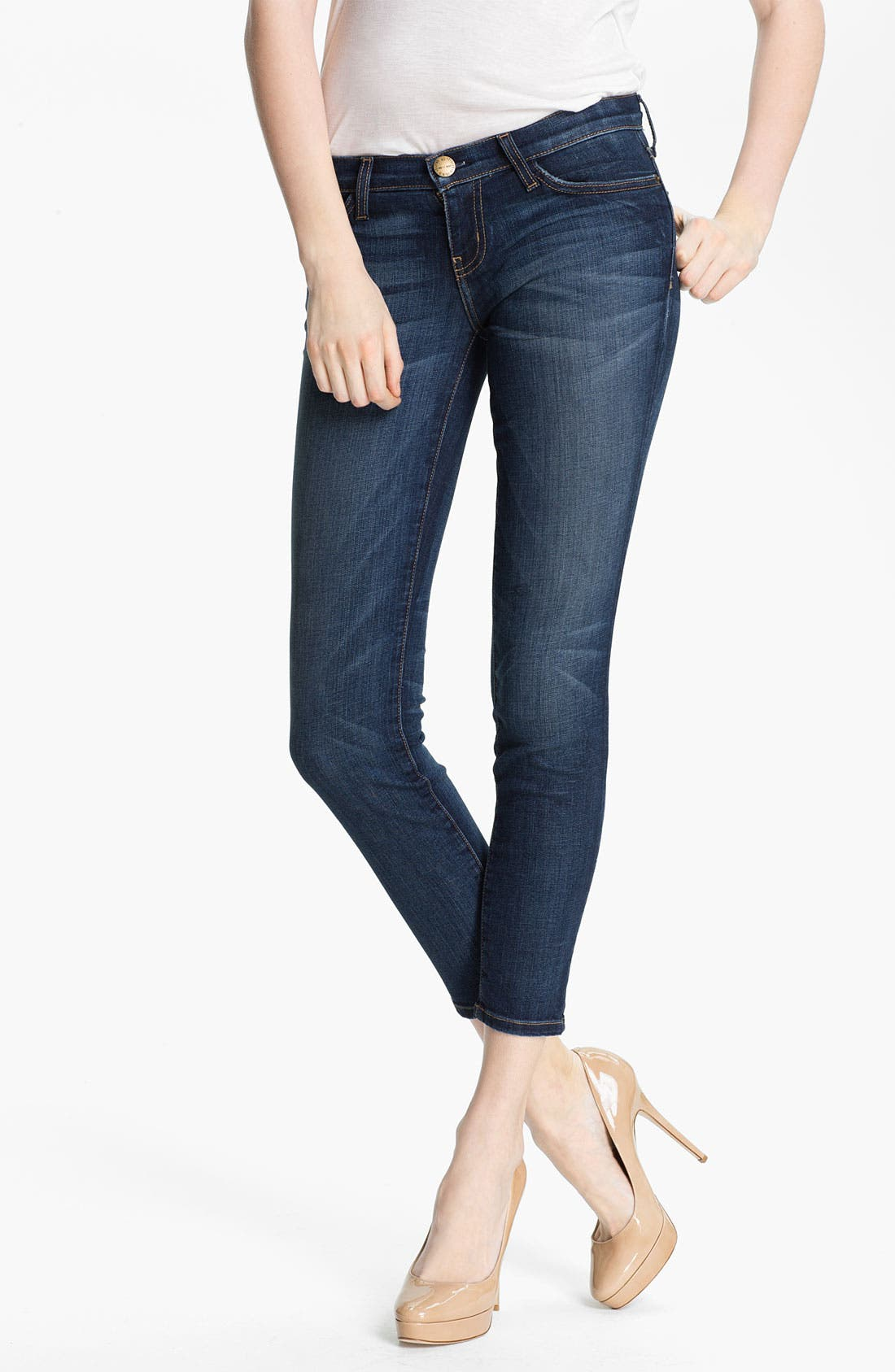 Current/Elliott 'The Stiletto' Stretch Jeans (Townie)
