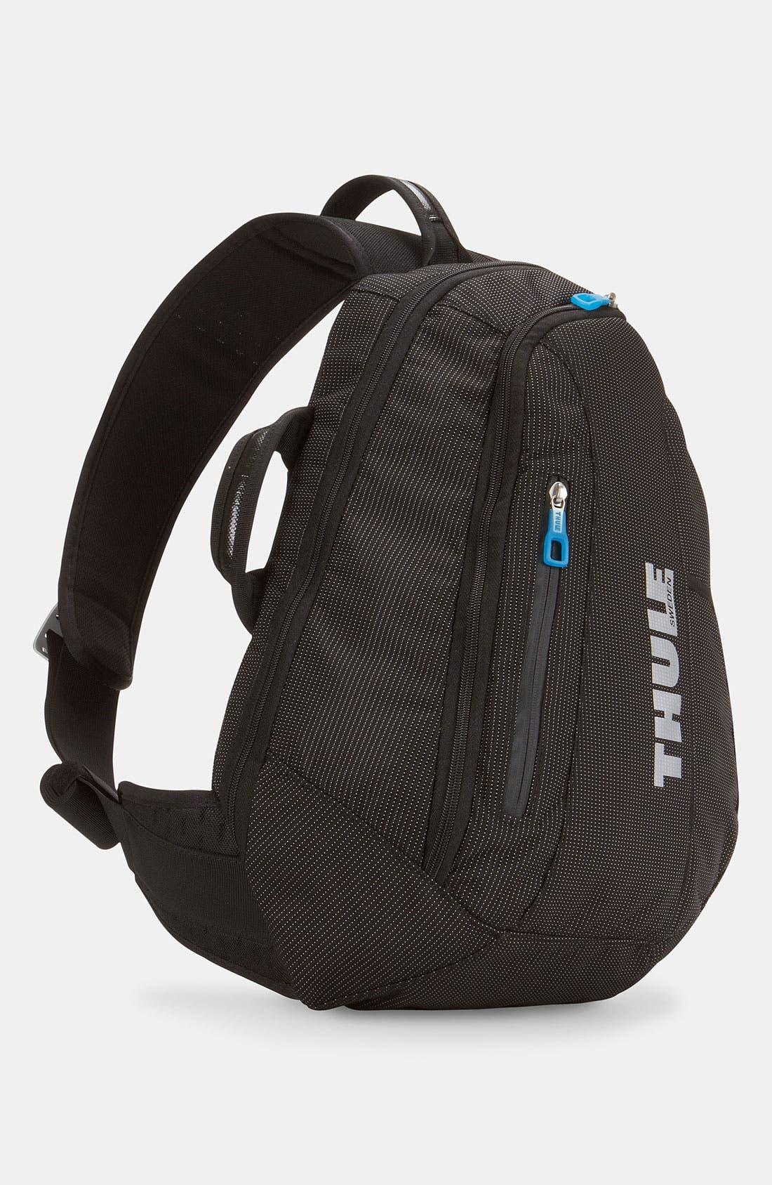 'Crossover' Sling Backpack,                         Main,                         color, Black