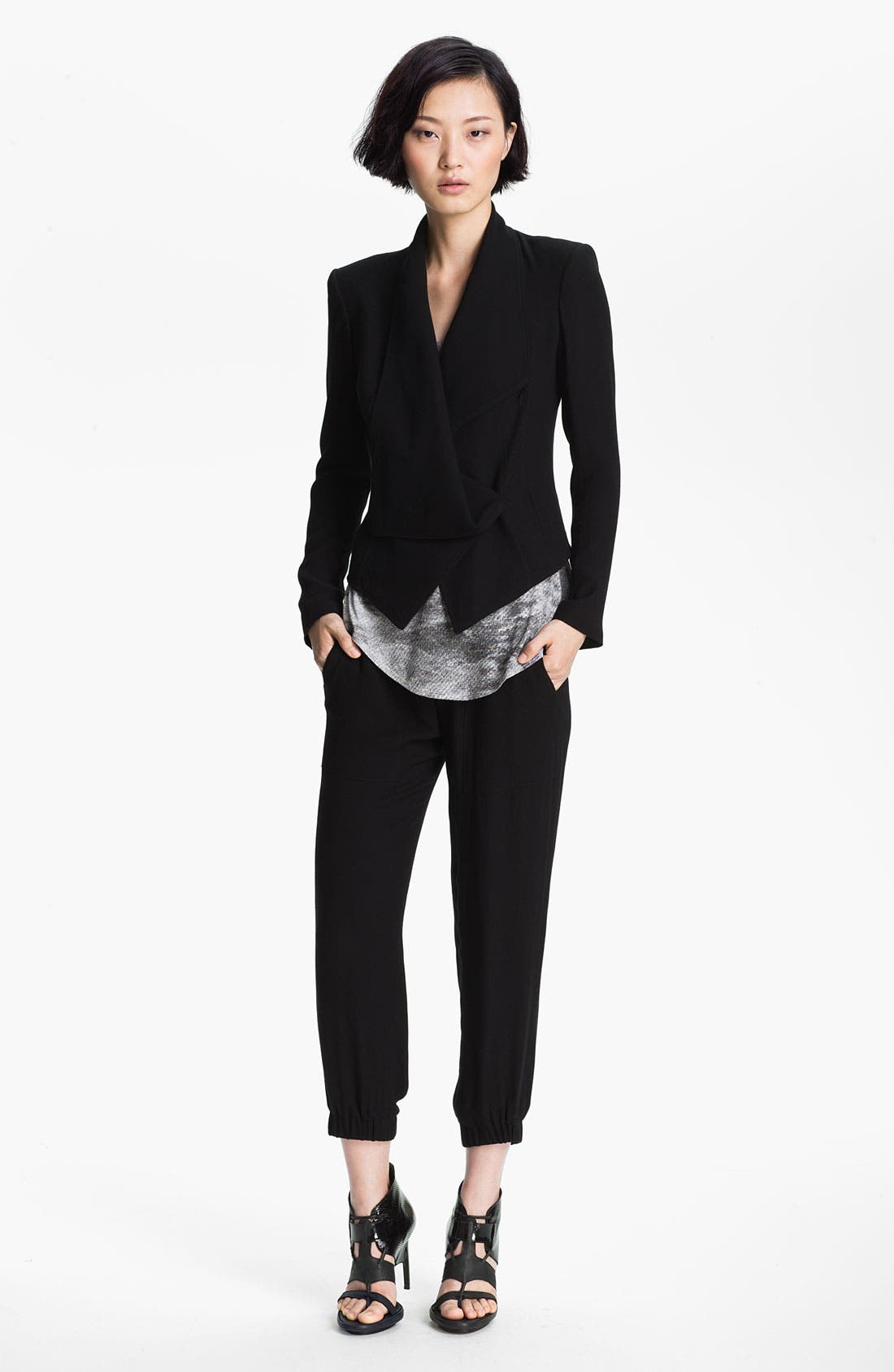 Alternate Image 4  - HELMUT Helmut Lang 'Flash' Draped Blazer