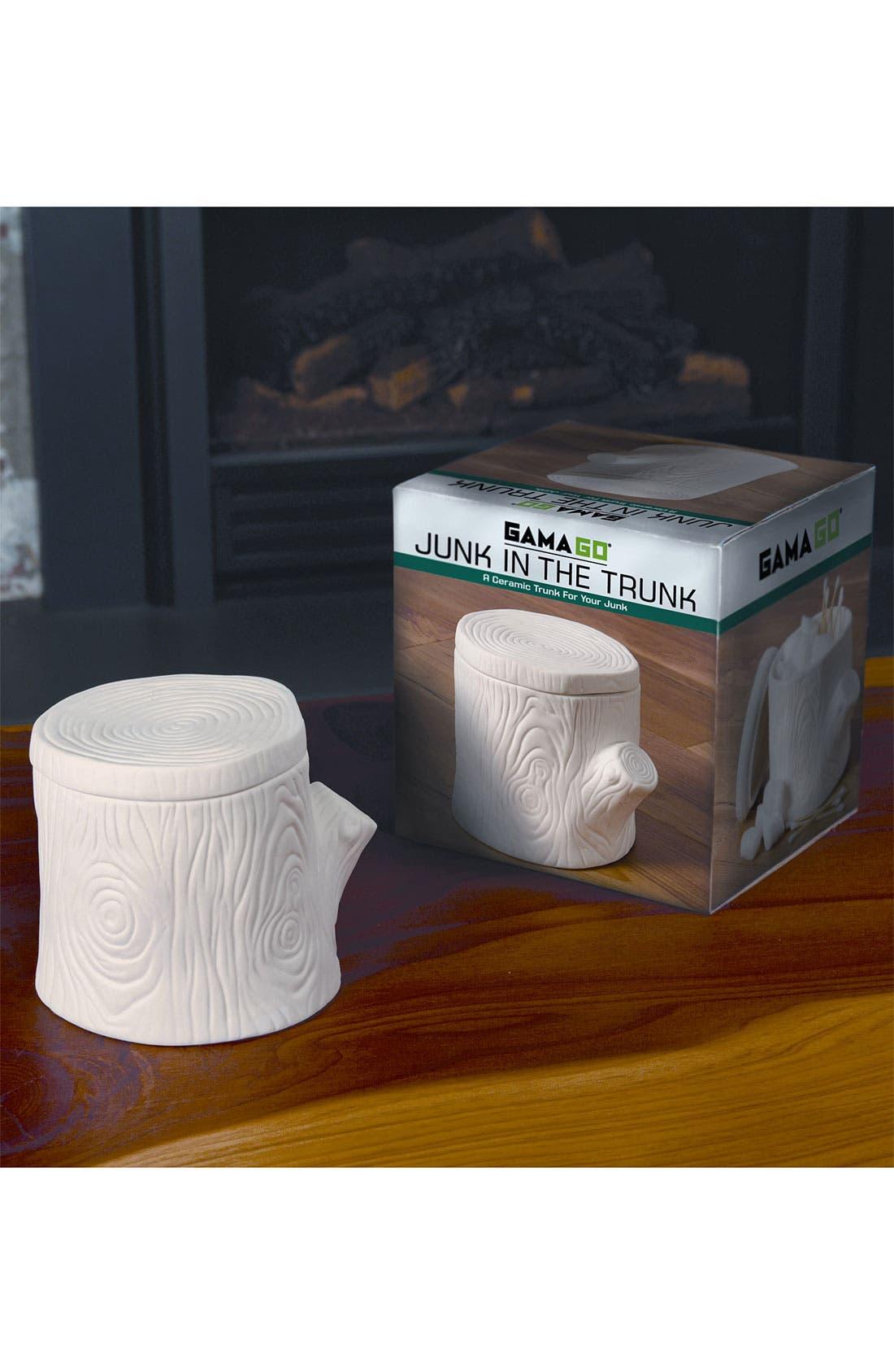 Alternate Image 3  - 'Junk in The Trunk' Ceramic Box