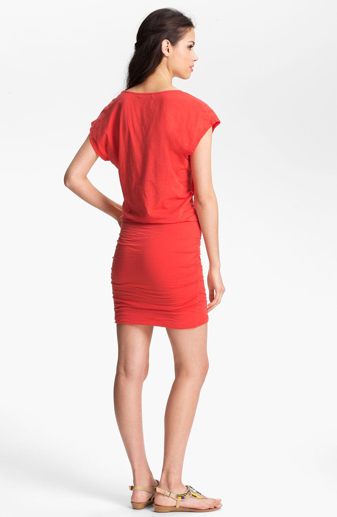 Alternate Image 2  - Velvet by Graham & Spencer Ruched Jersey Dress