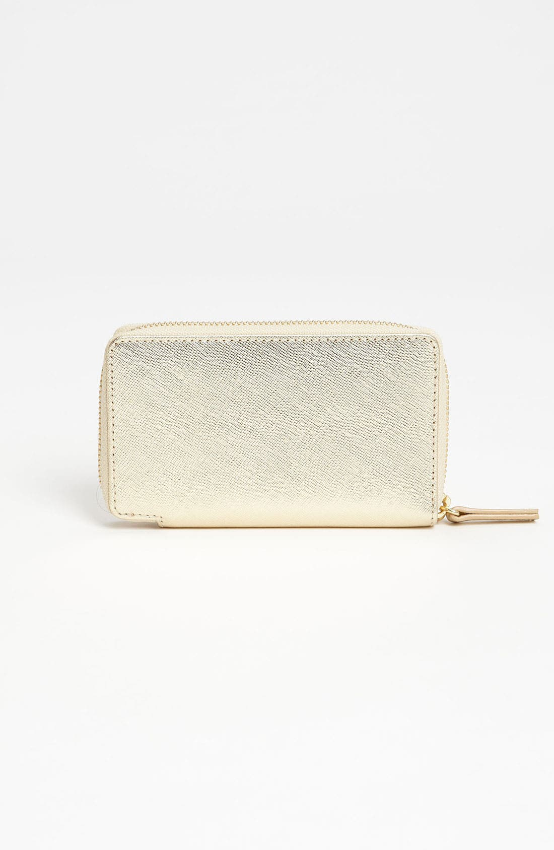 Alternate Image 4  - Halogen® 'Cassie - Small' Leather Wristlet