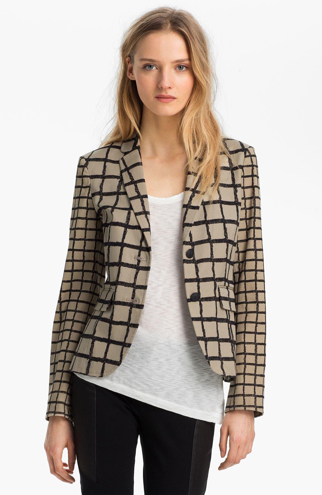 Alternate Image 2  - rag & bone 'Bailey' Windowpane Jacket