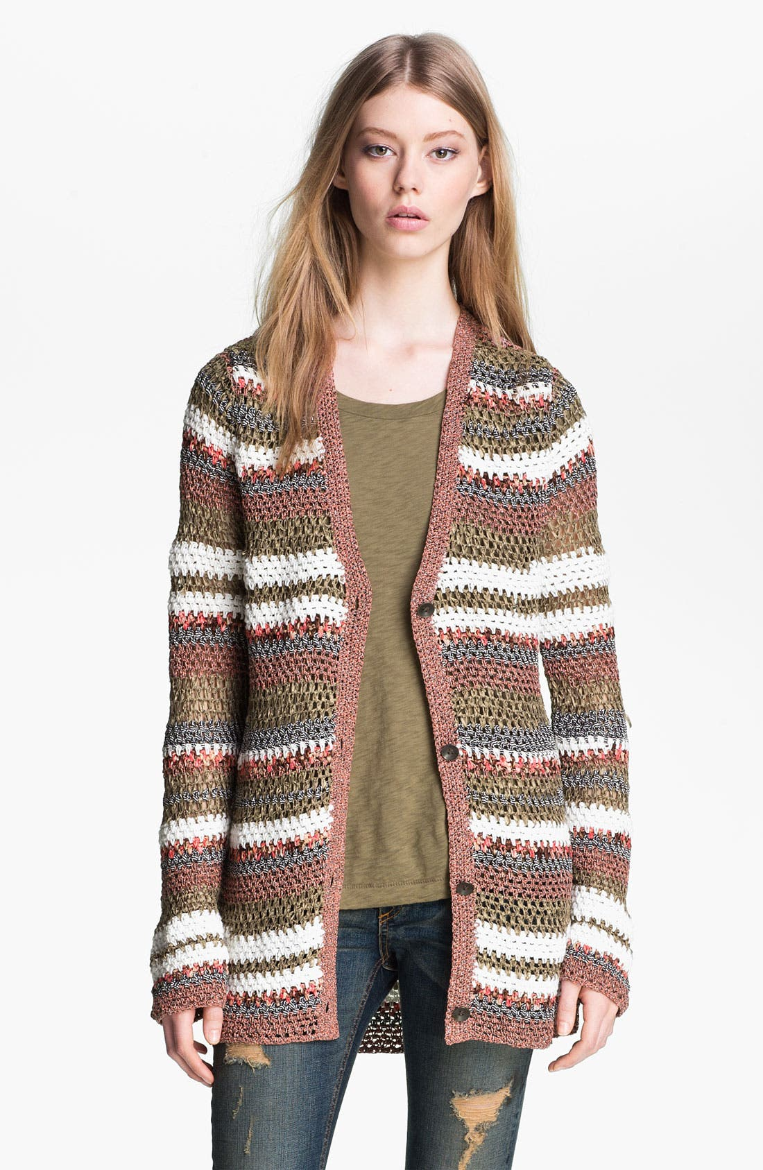 Alternate Image 2  - rag & bone 'Astrid' Cardigan