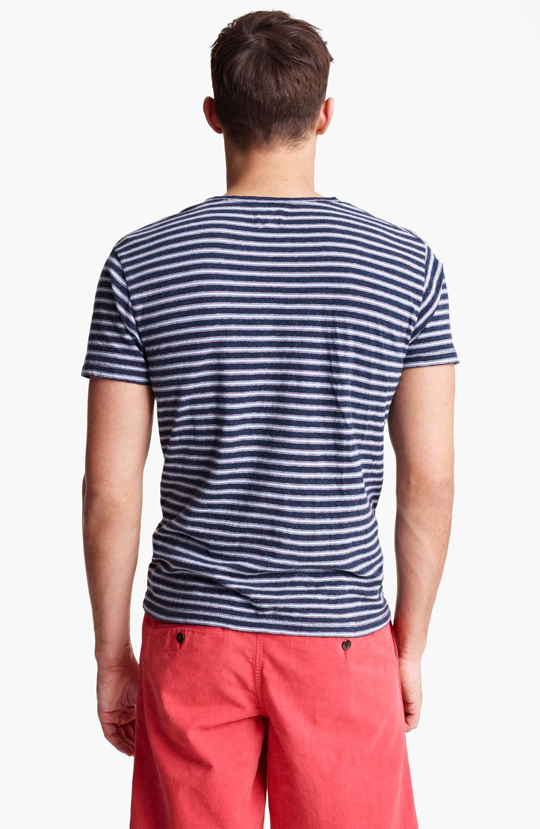 Alternate Image 2  - Todd Snyder Classic Stripe T-Shirt