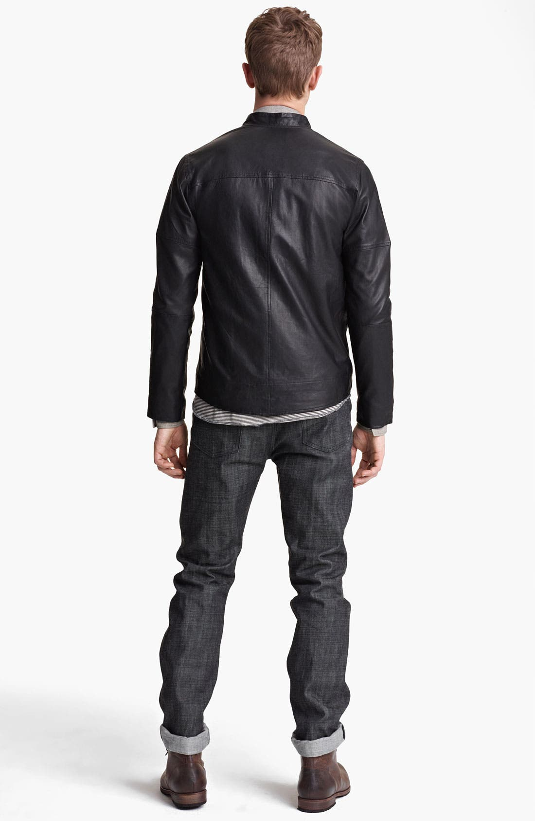 Alternate Image 5  - Field Scout Leather Jacket