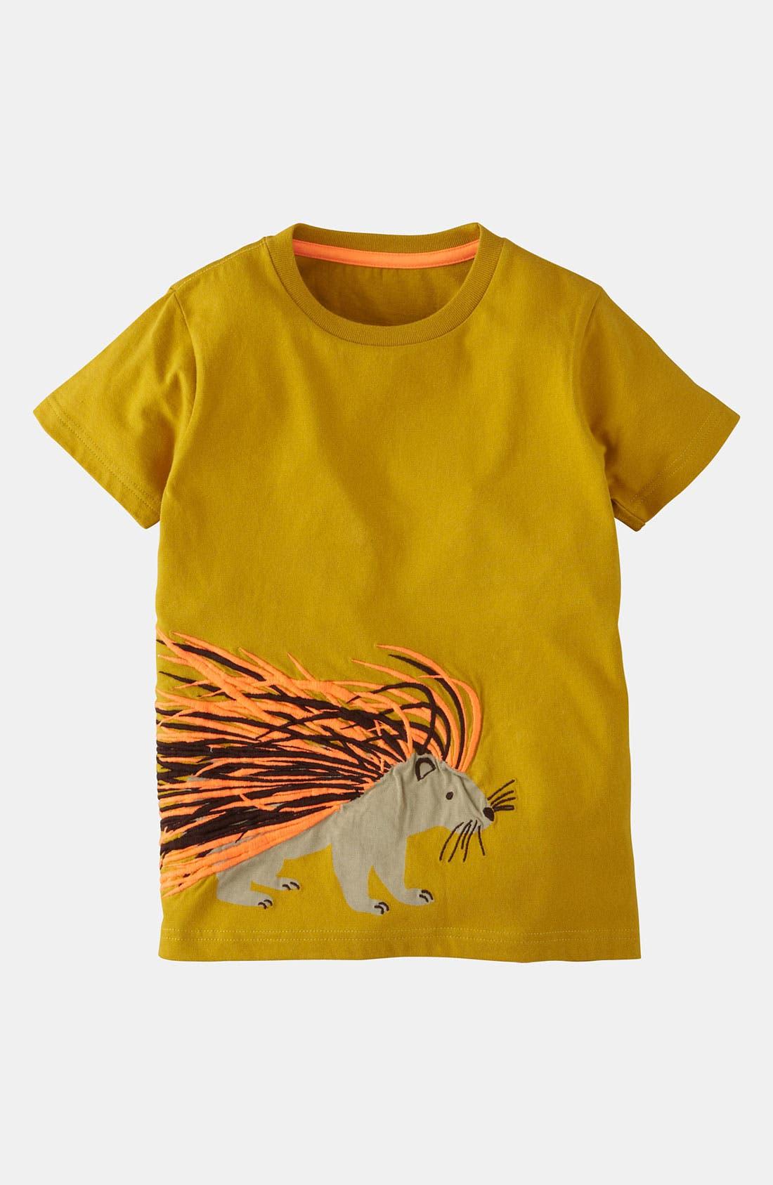 Alternate Image 1 Selected - Mini Boden 'Print & Stitch' T-Shirt (Little Boys & Big Boys)