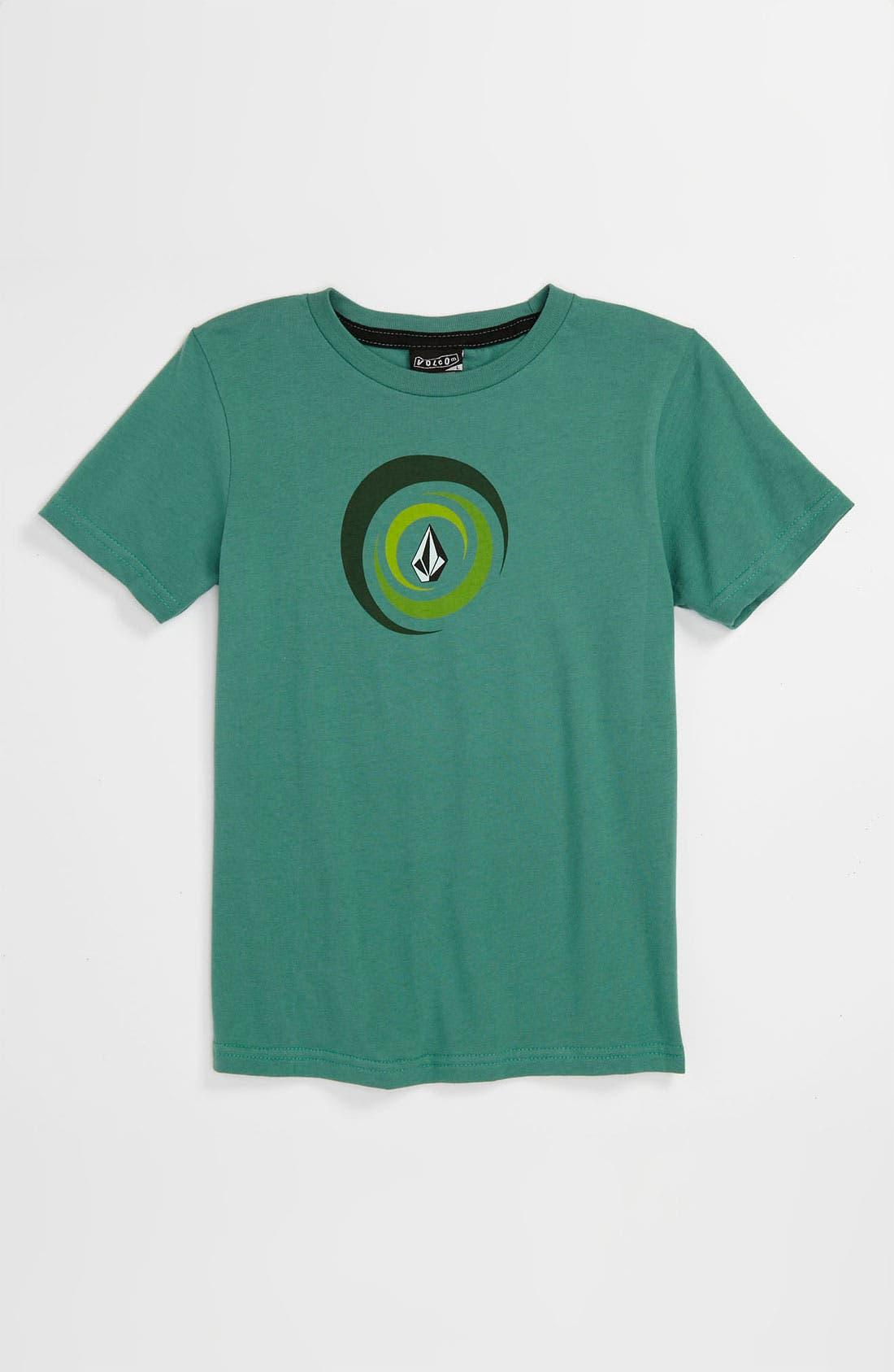 Alternate Image 1 Selected - Volcom 'Spiralina' T-Shirt (Big Boys)
