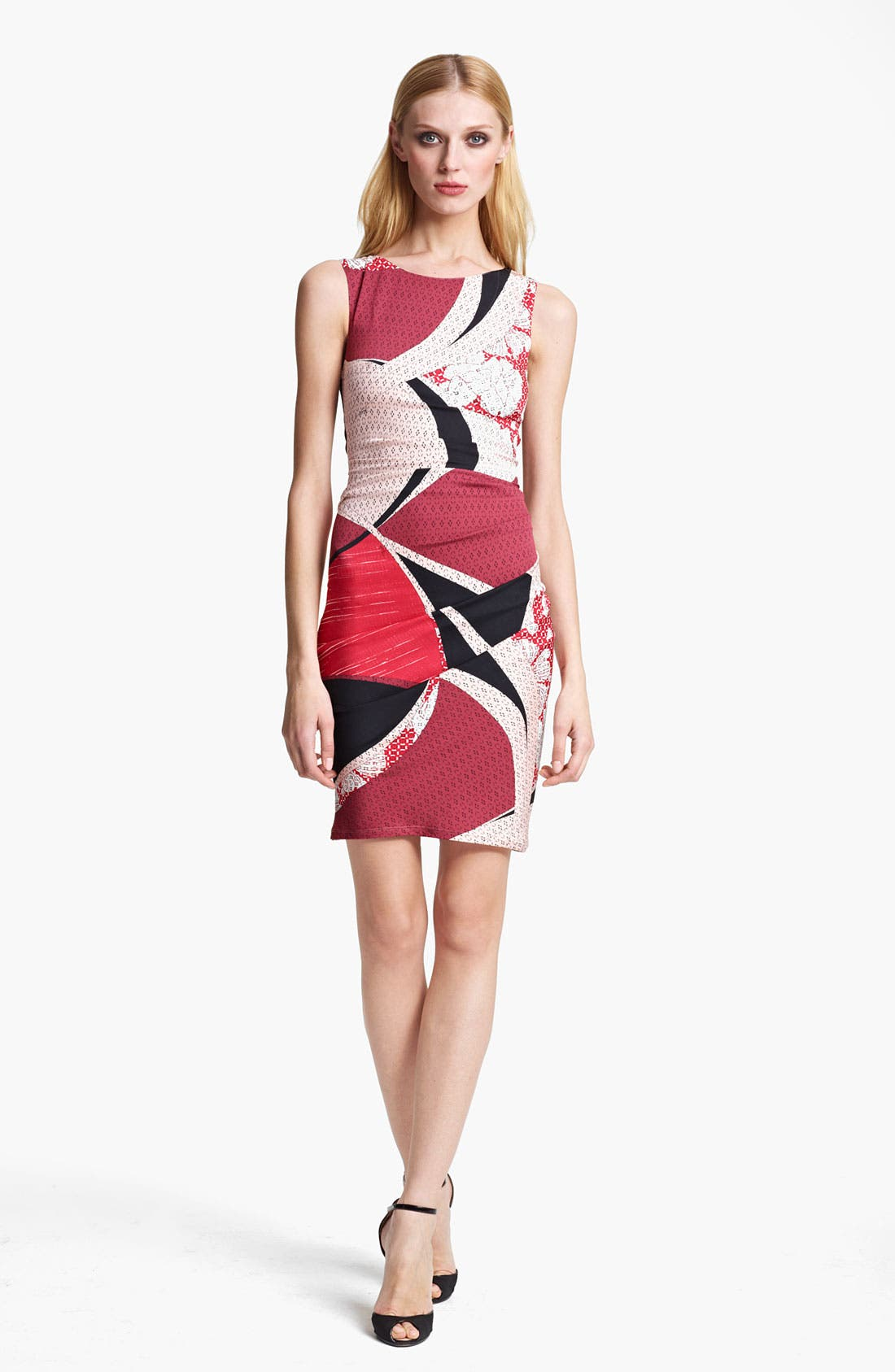 Alternate Image 1 Selected - Emilio Pucci Elisse Print Ruched Dress